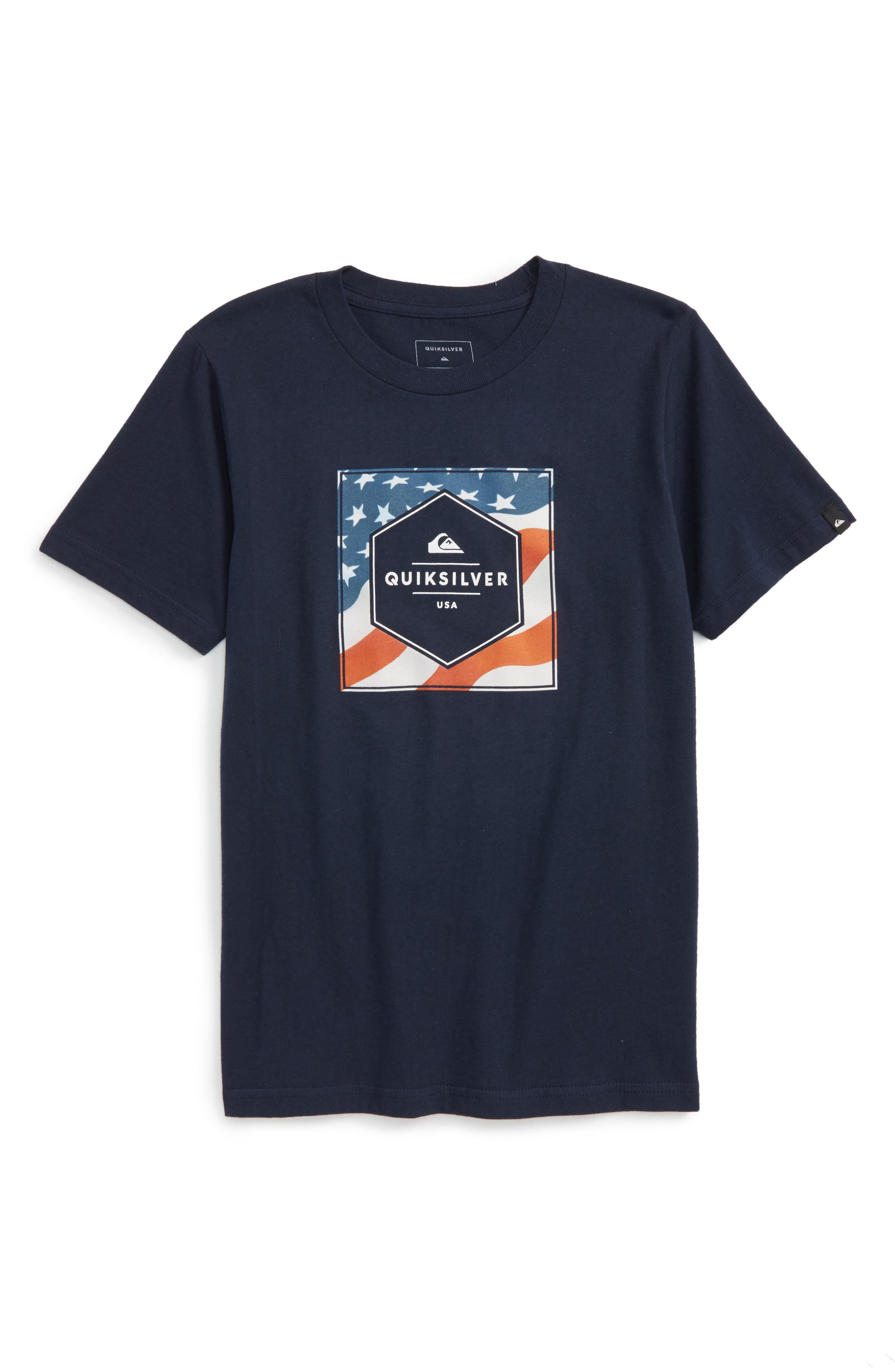 Quiksilver Stars N Stripes Graphic T-Shirt (Big Boys)