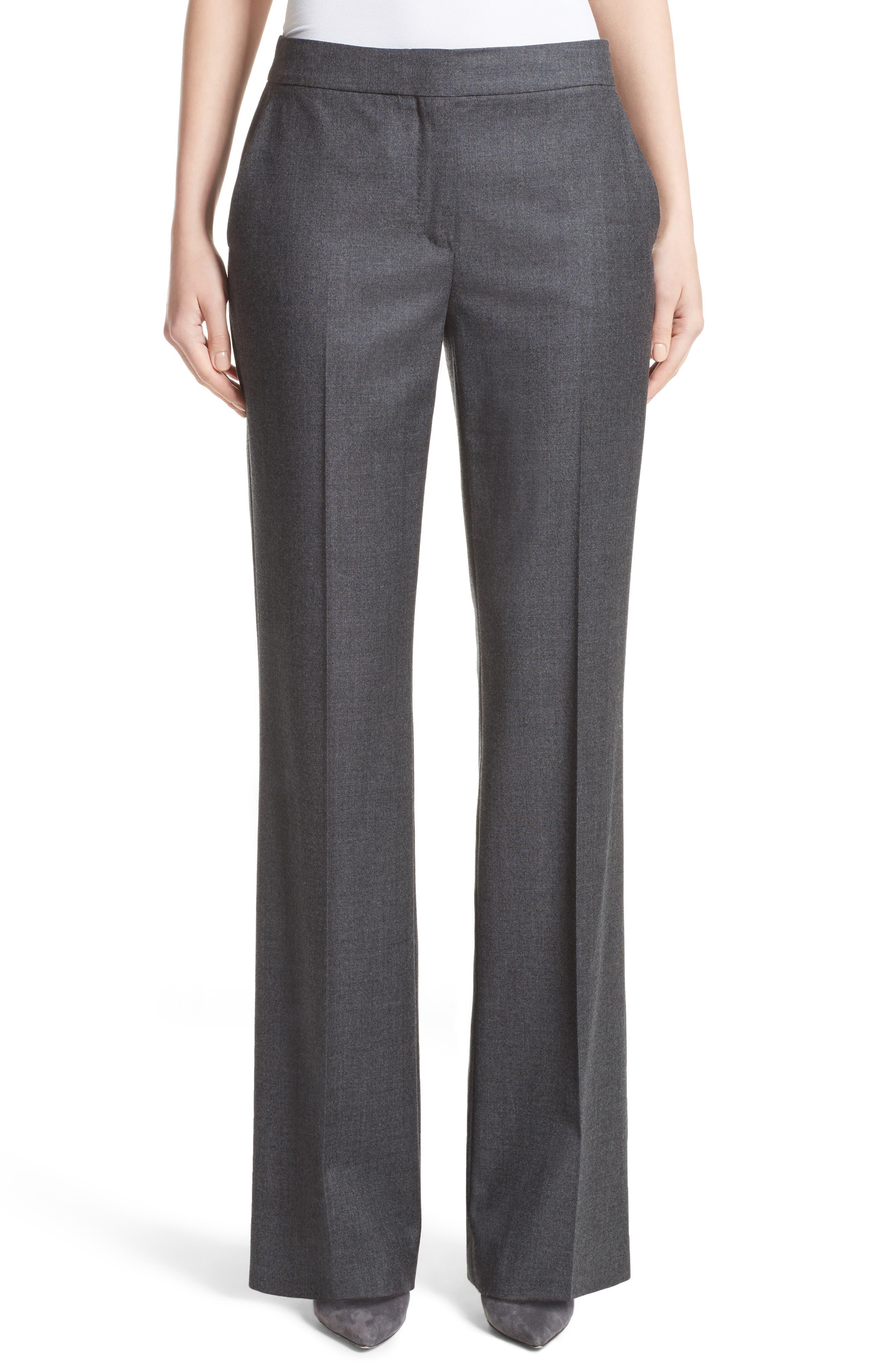 Pedone Wool Pants,                             Main thumbnail 1, color,                             Dark Grey