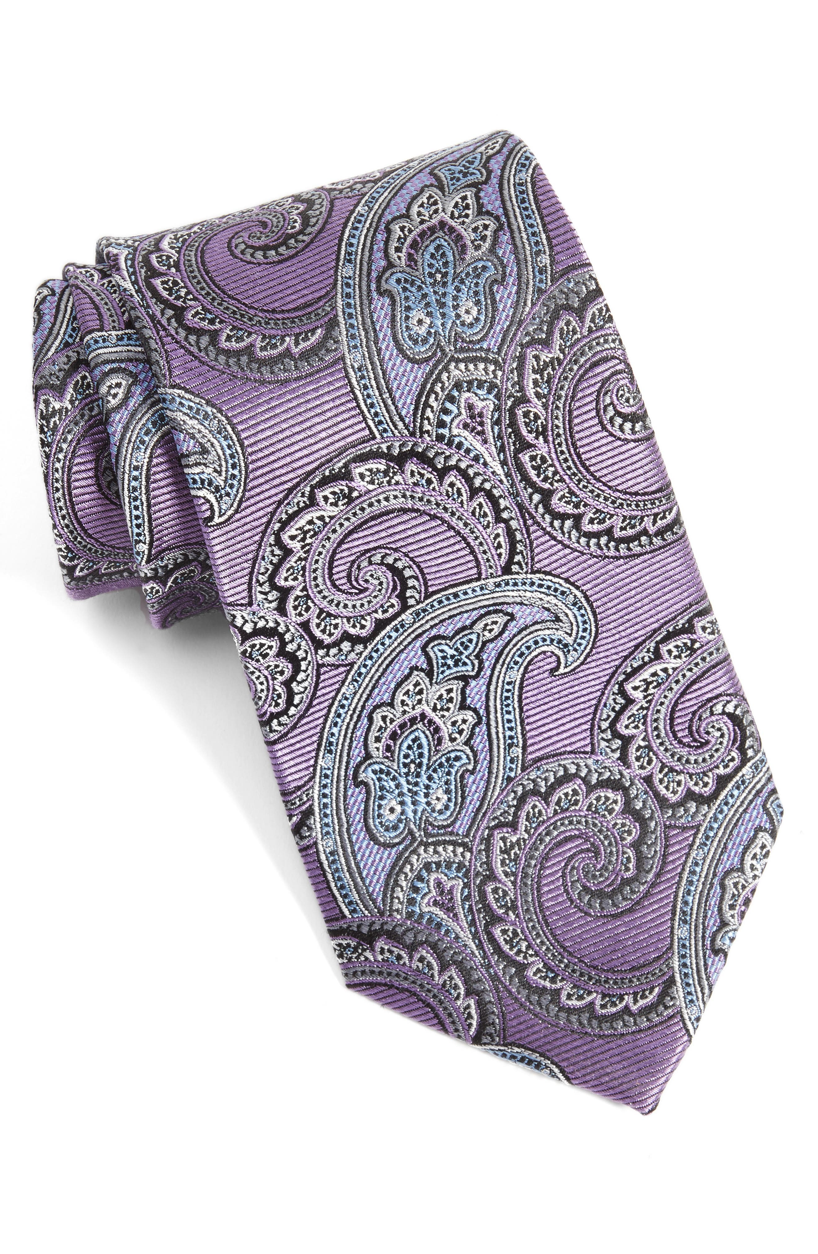 NORDSTROM MENS SHOP Nordstrom Paisley Silk Tie