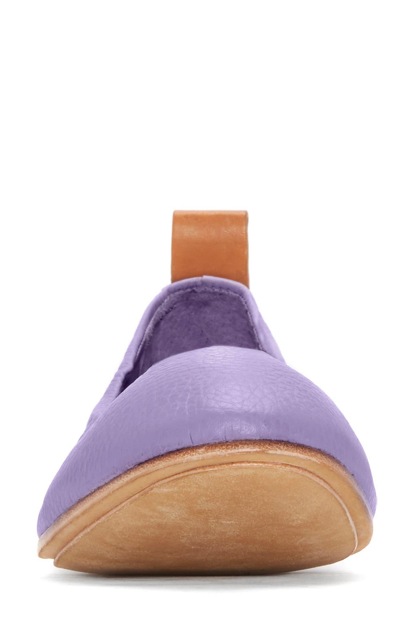 Carola Ballet Flat,                             Alternate thumbnail 3, color,                             Lavender