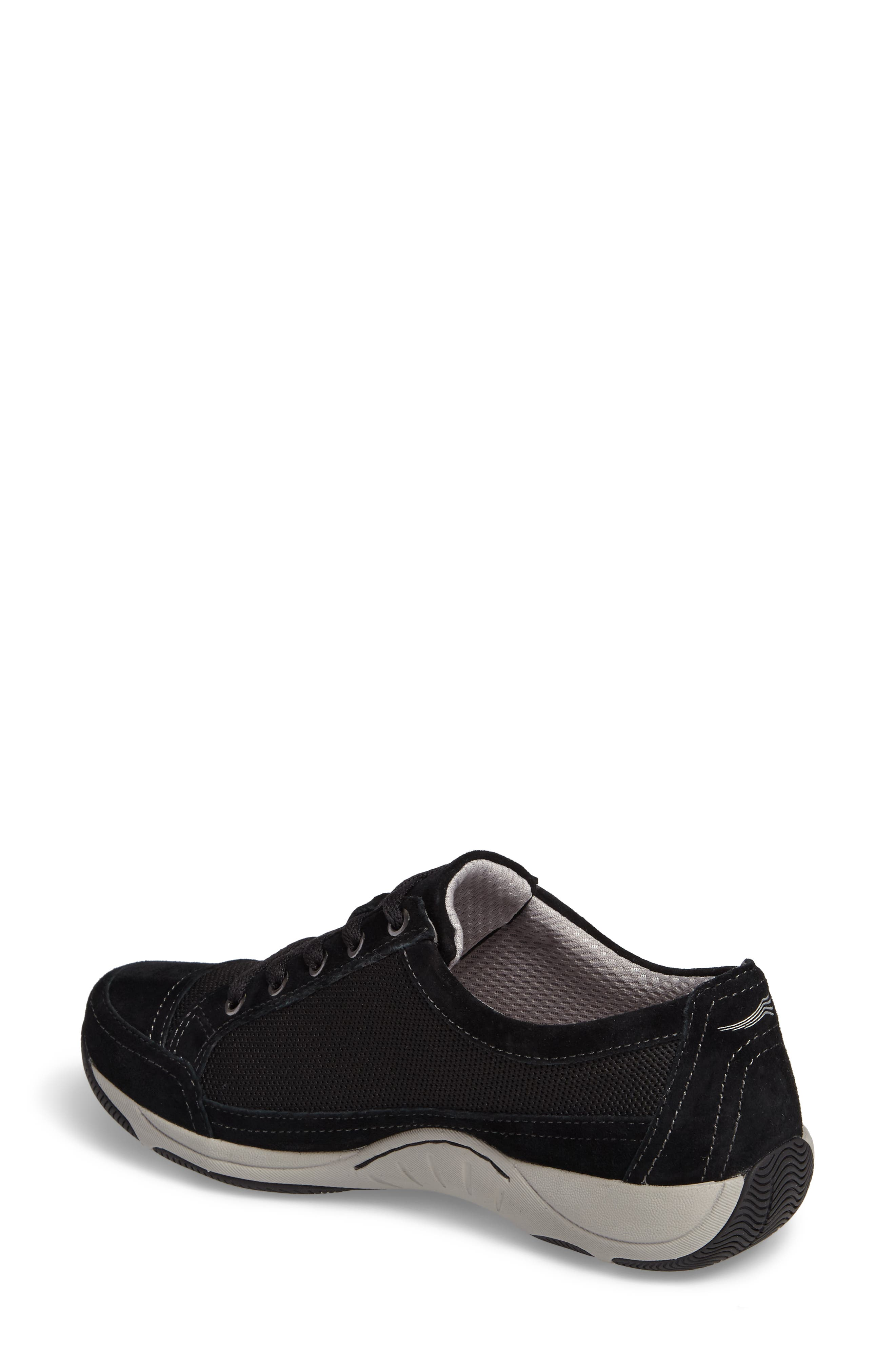 Harmony Sneaker,                             Alternate thumbnail 2, color,                             Black Suede
