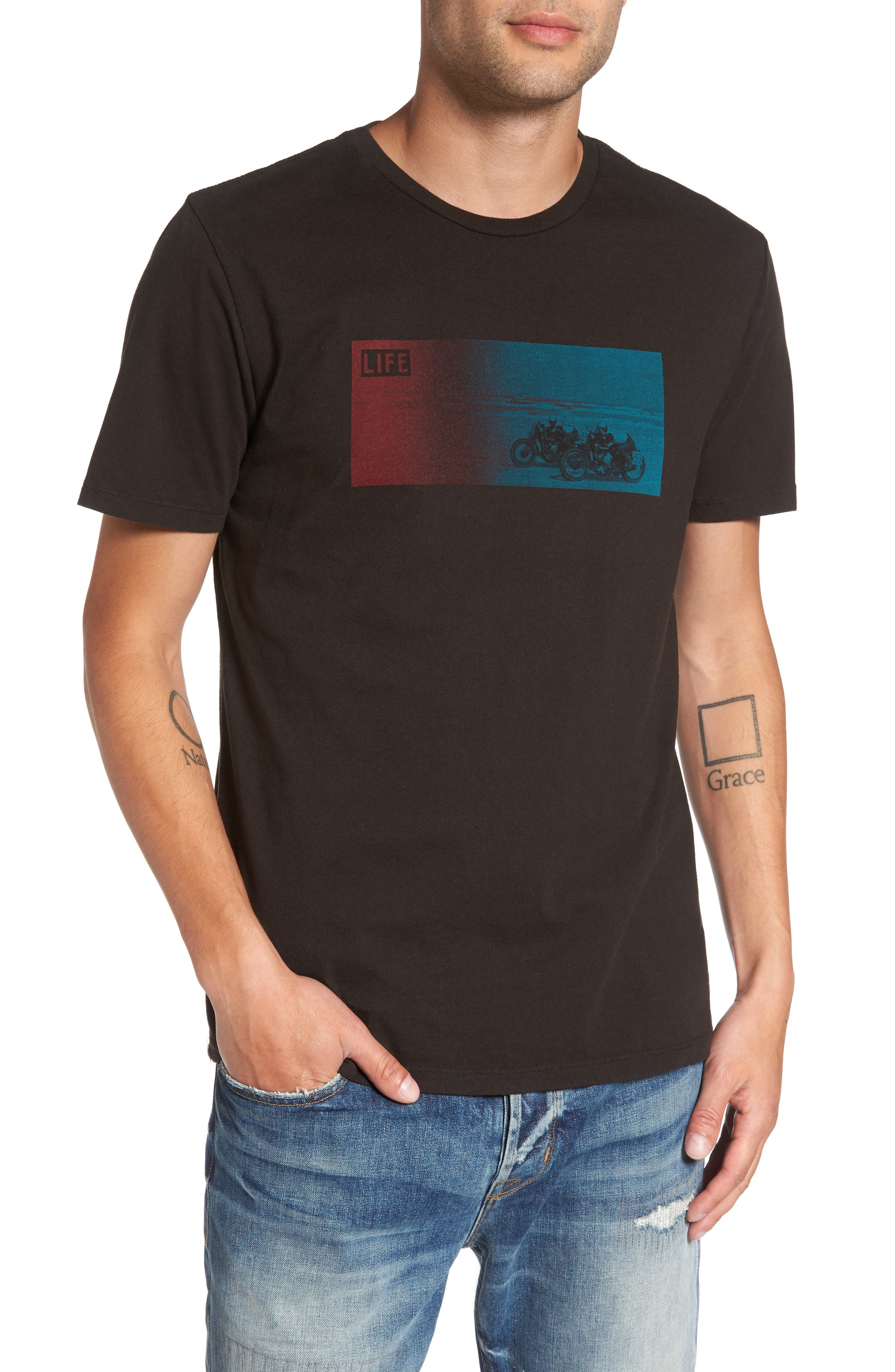 Altru LIFE® Two Motorcycles T-Shirt