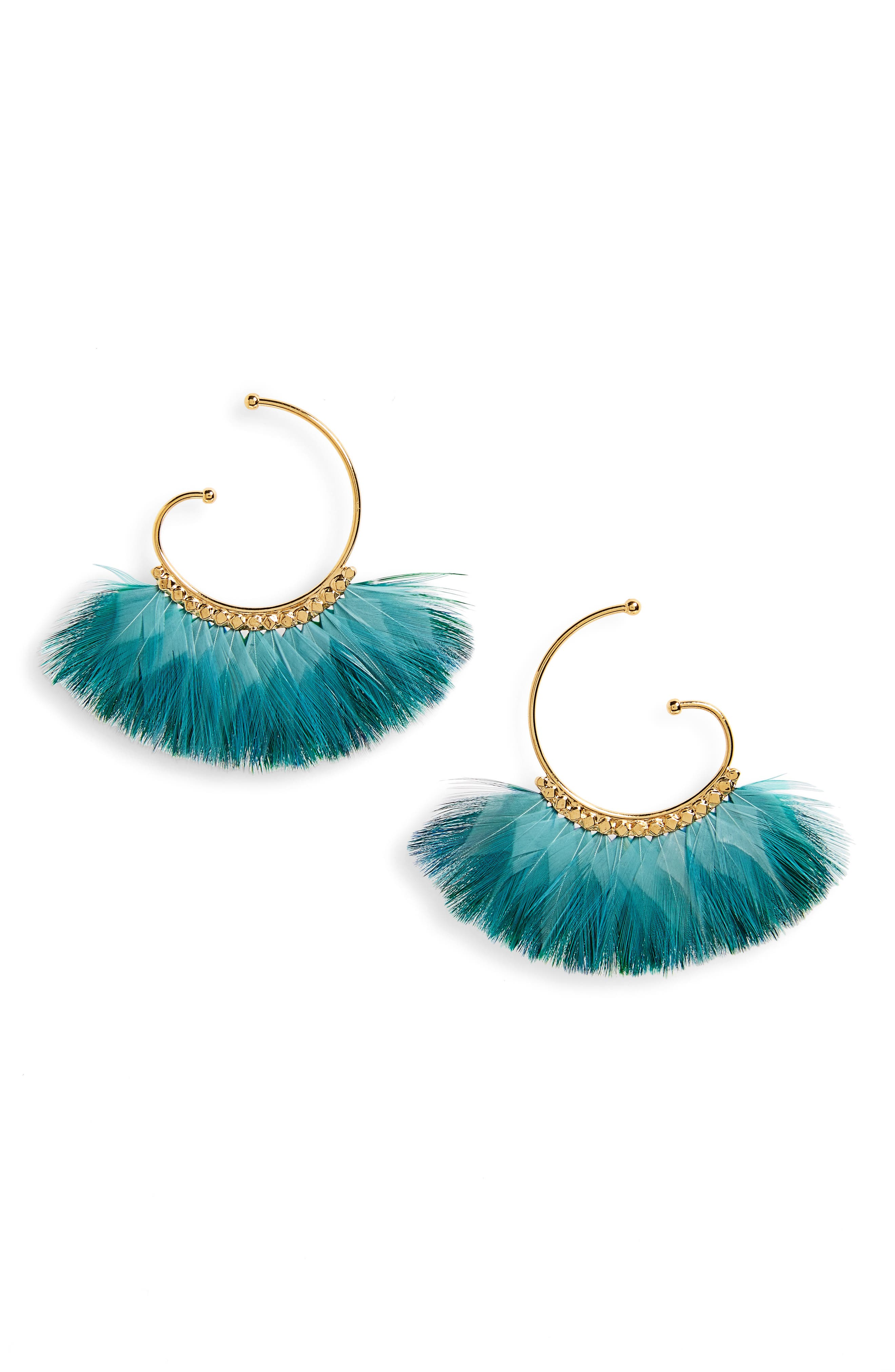 Main Image - Gas Bijoux 'Buzios' Feather Earrings