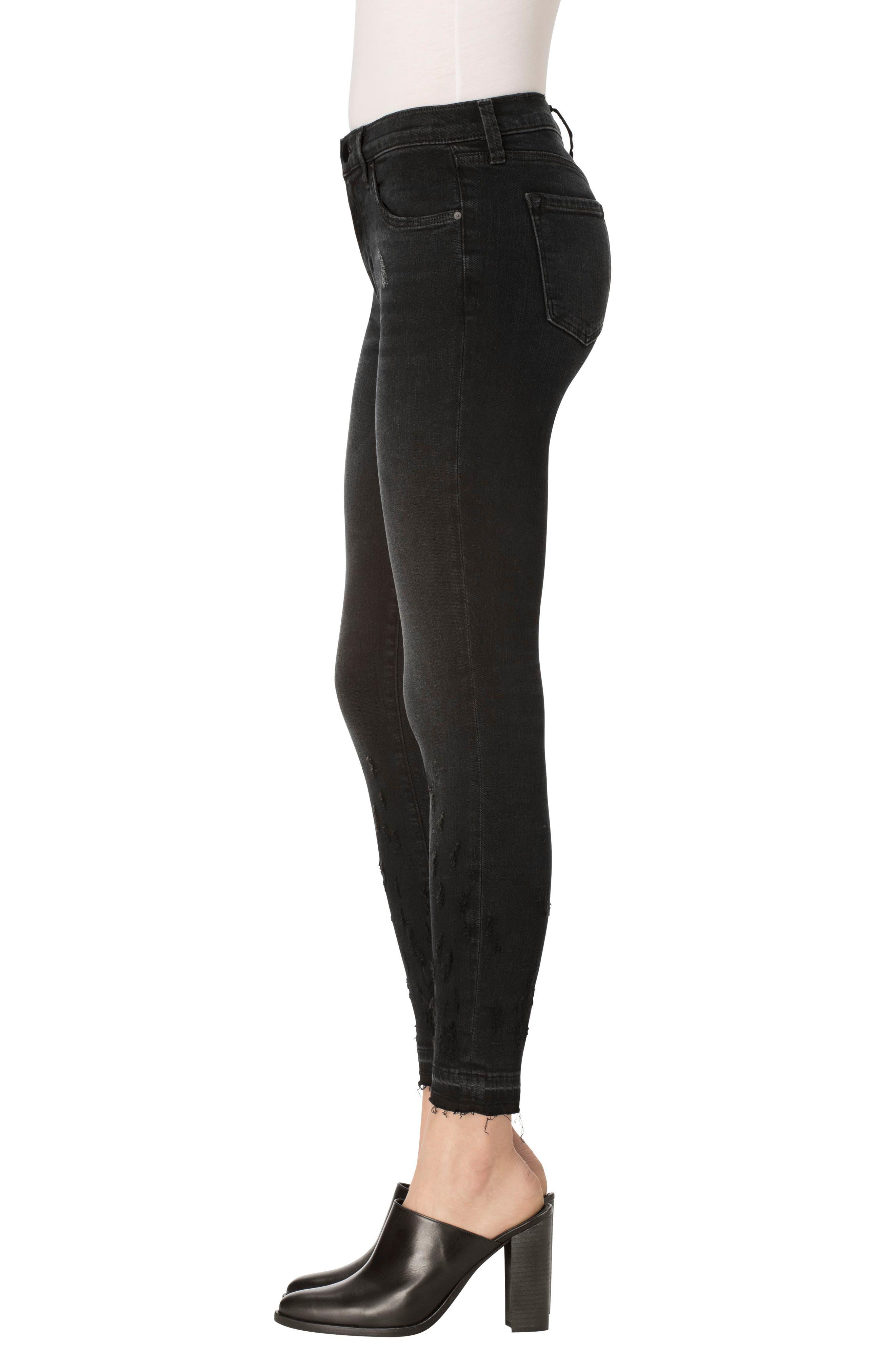 Alternate Image 3  - J Brand 835 Released Hem Crop Skinny Jeans (Corrupted)