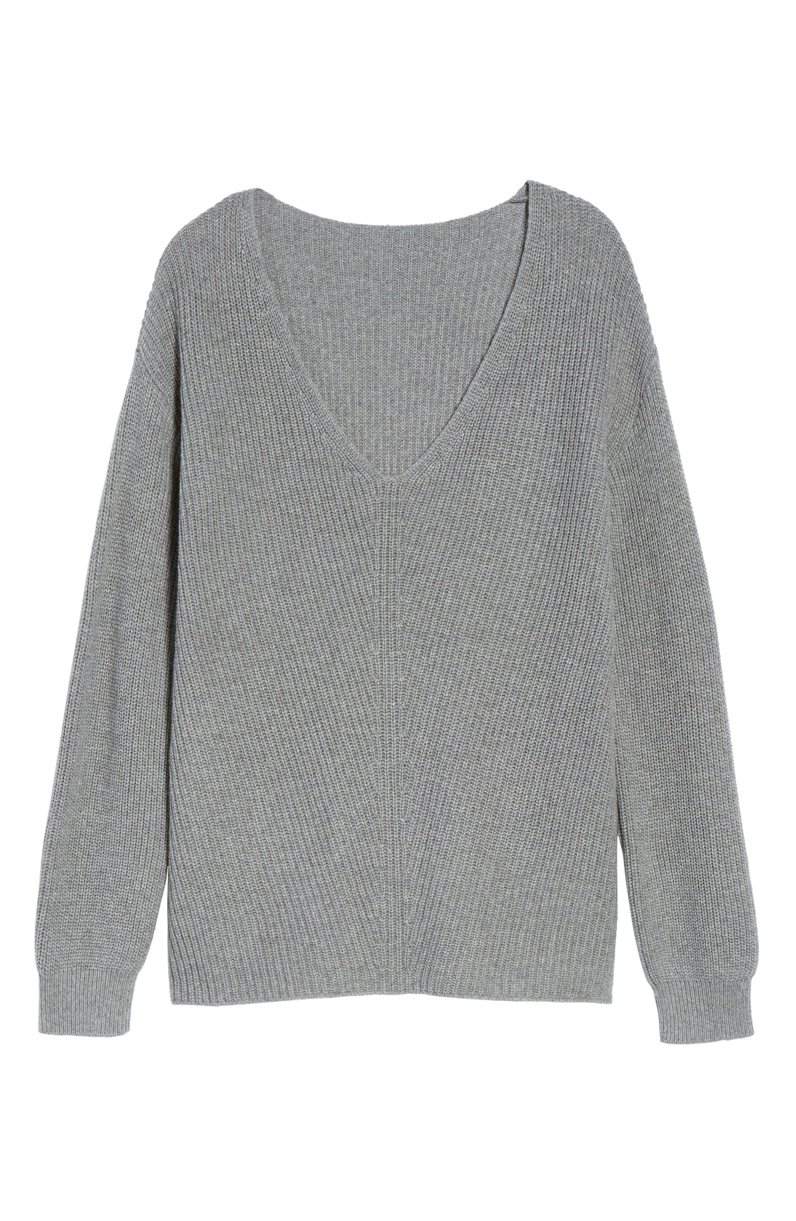 Alternate Image 6  - BP. V-Neck Sweater