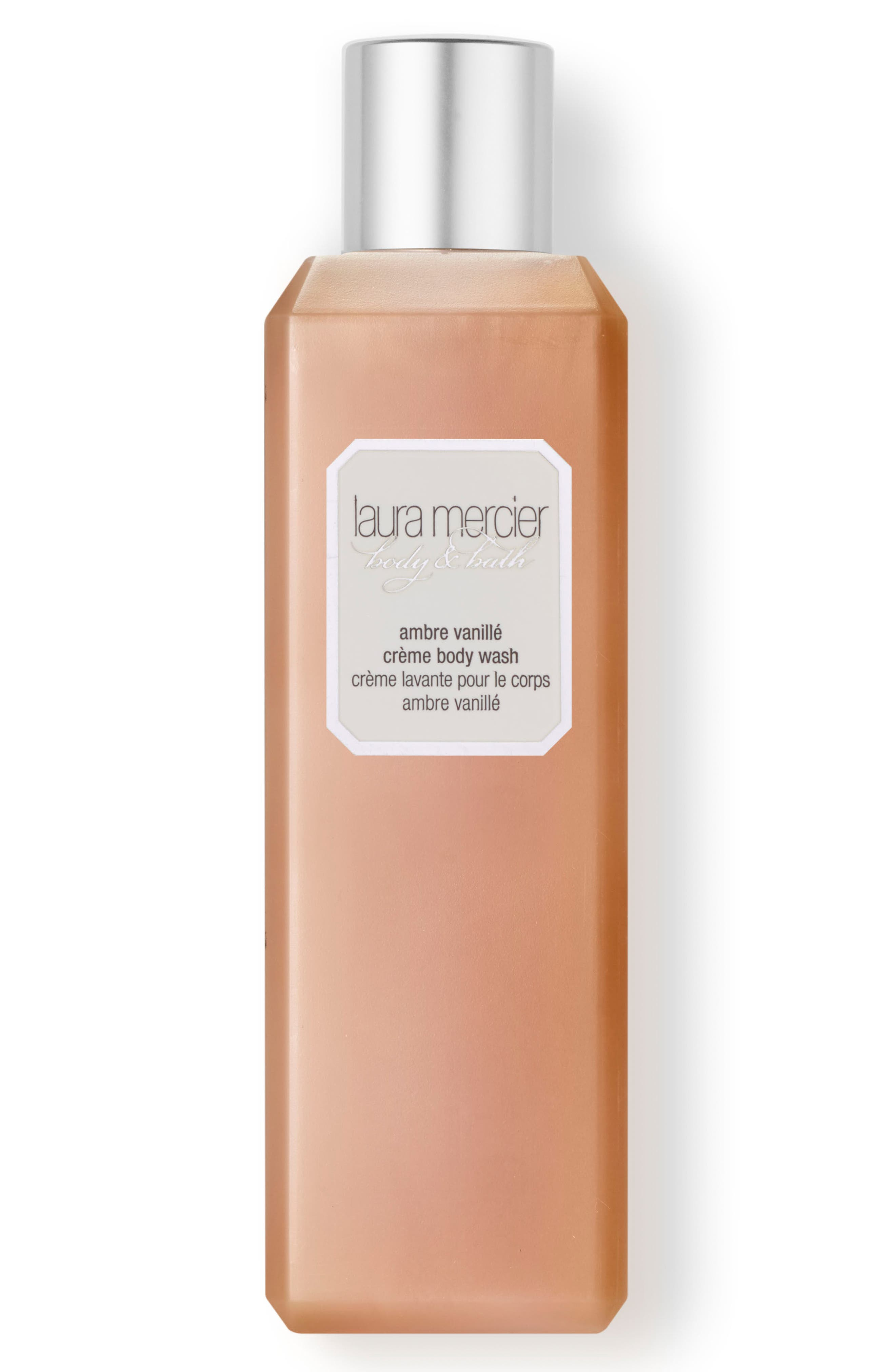 Main Image - Laura Mercier 'Ambre Vanillé' Crème Body Wash