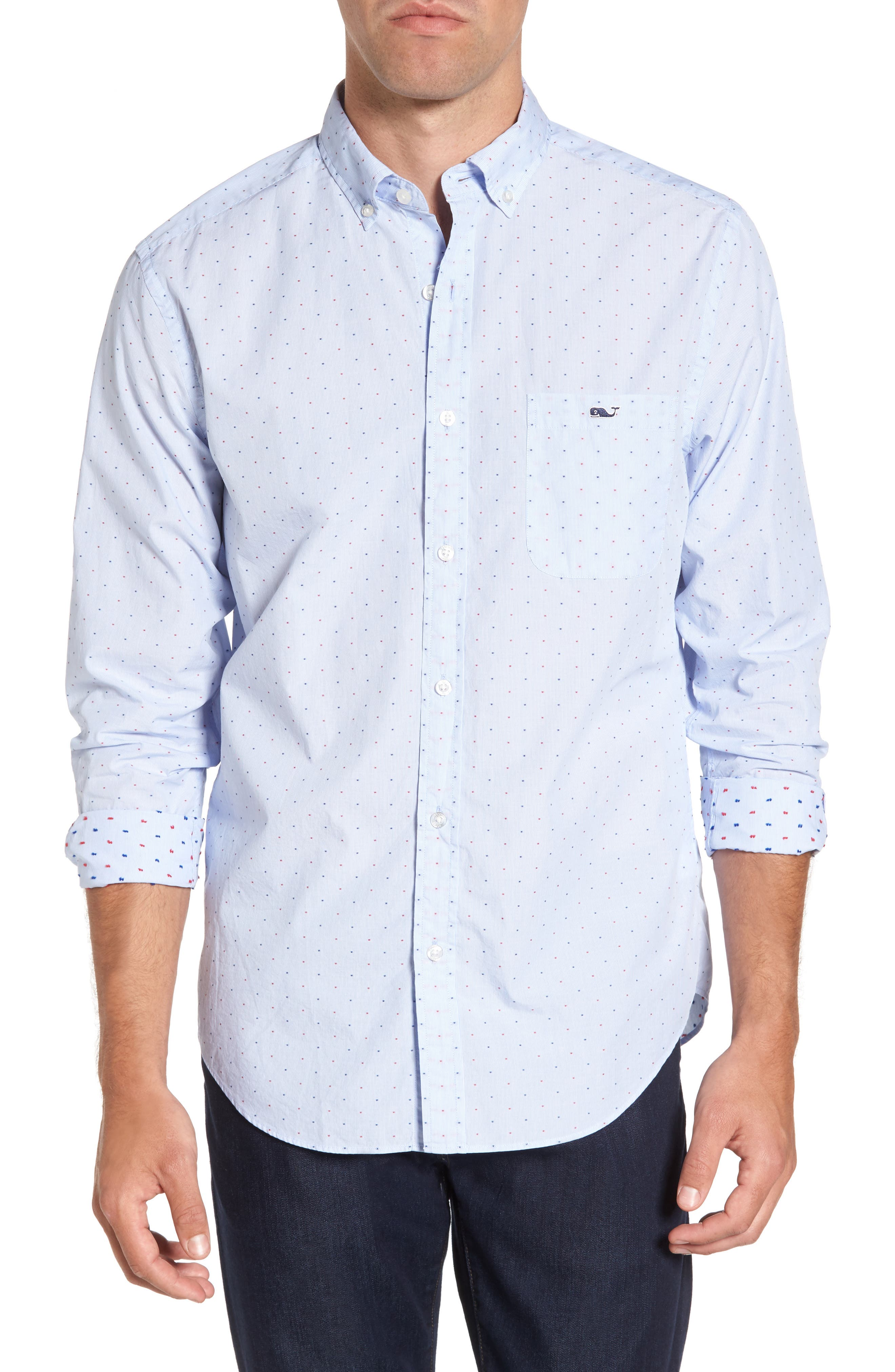 VINEYARD VINES Classic Fit Tucker Sport Shirt