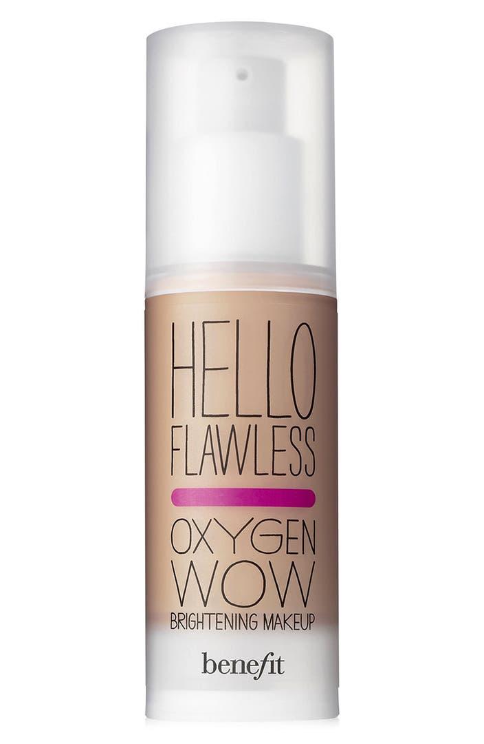 Benefit Hello Flawless Oxygen Wow Liquid Foundation
