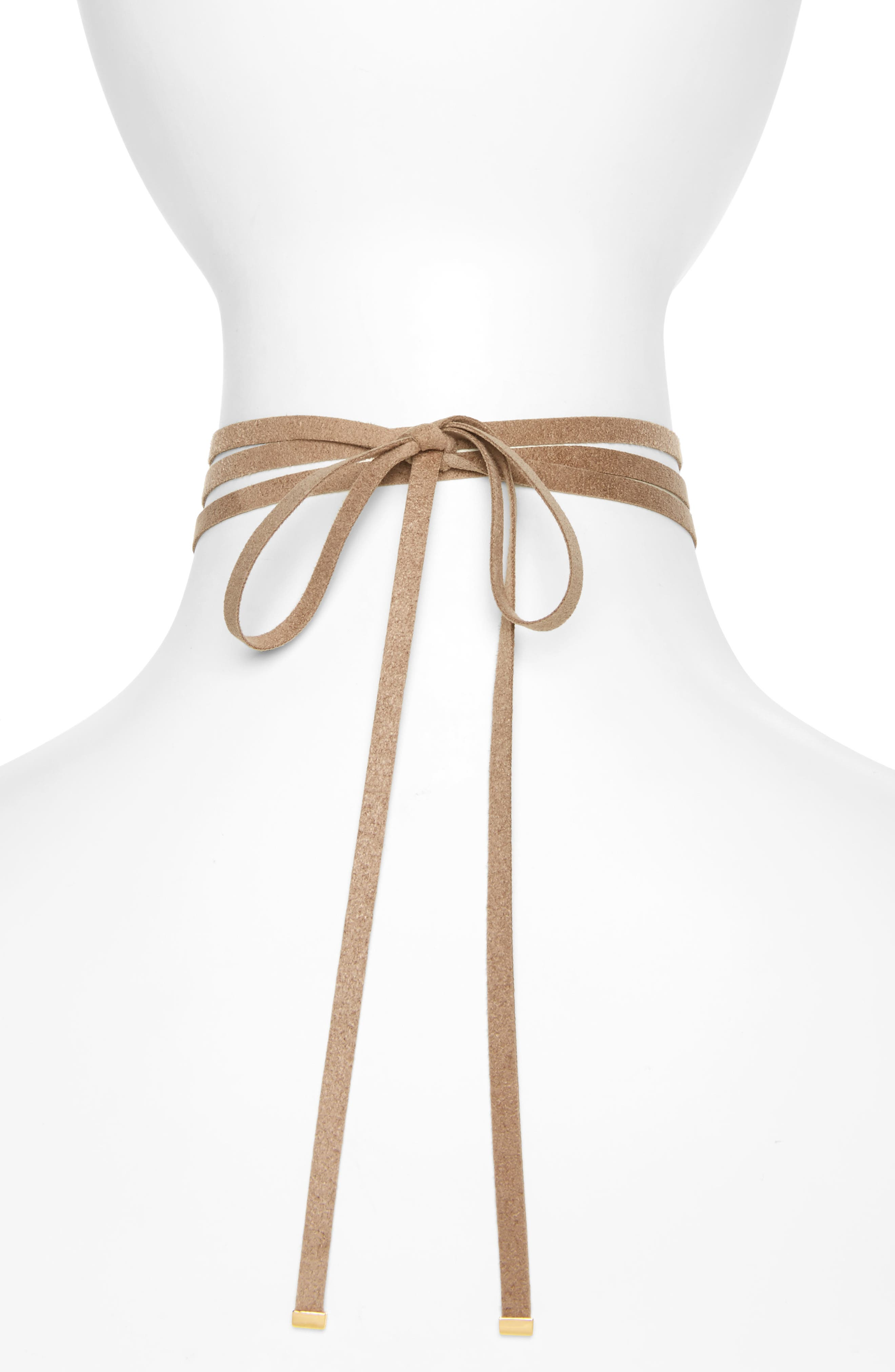 Alternate Image 2  - Nadri Wrap Choker Necklace