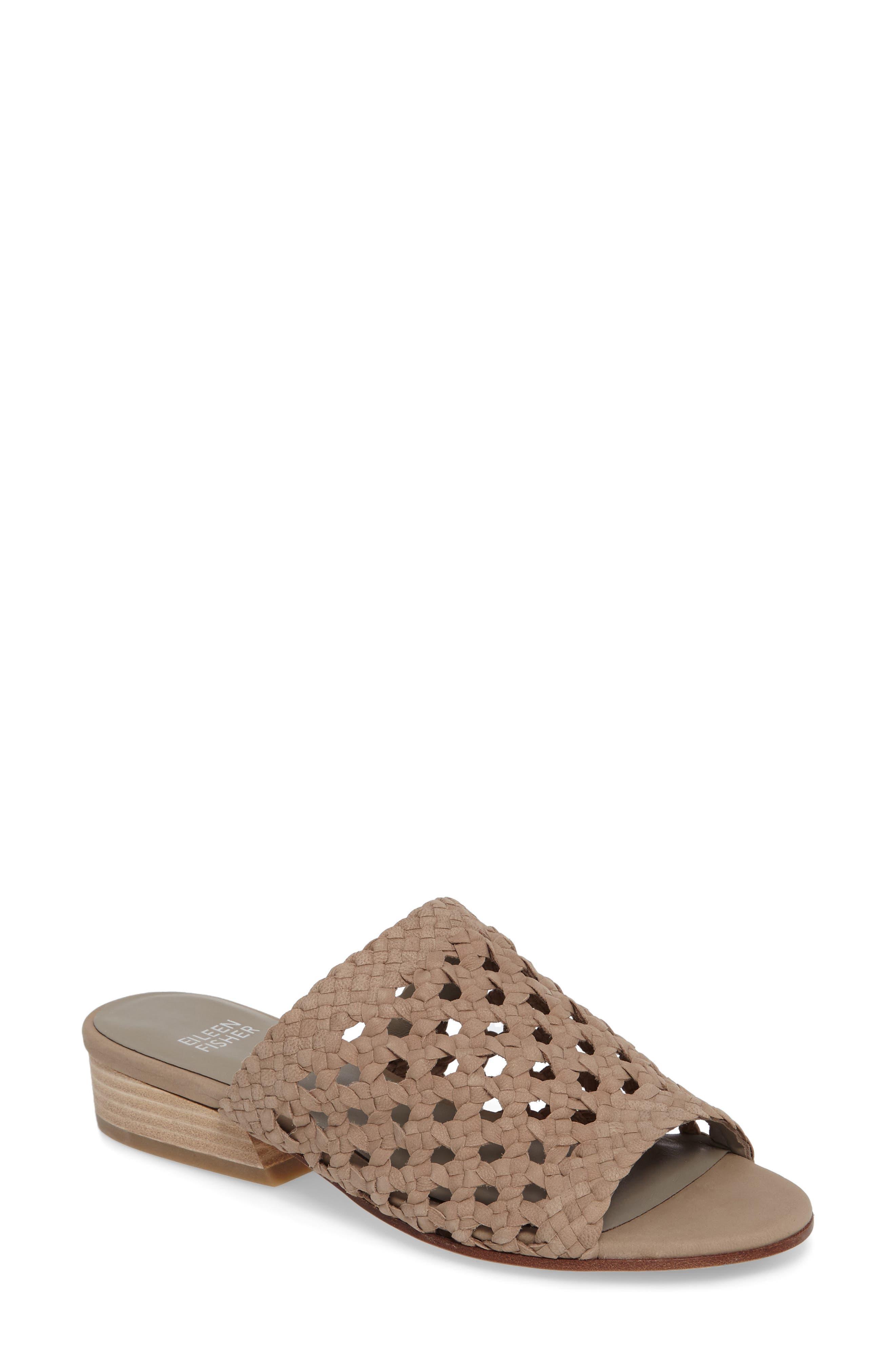 Alternate Image 1 Selected - Eileen Fisher Aloe Slide Sandal (Women)