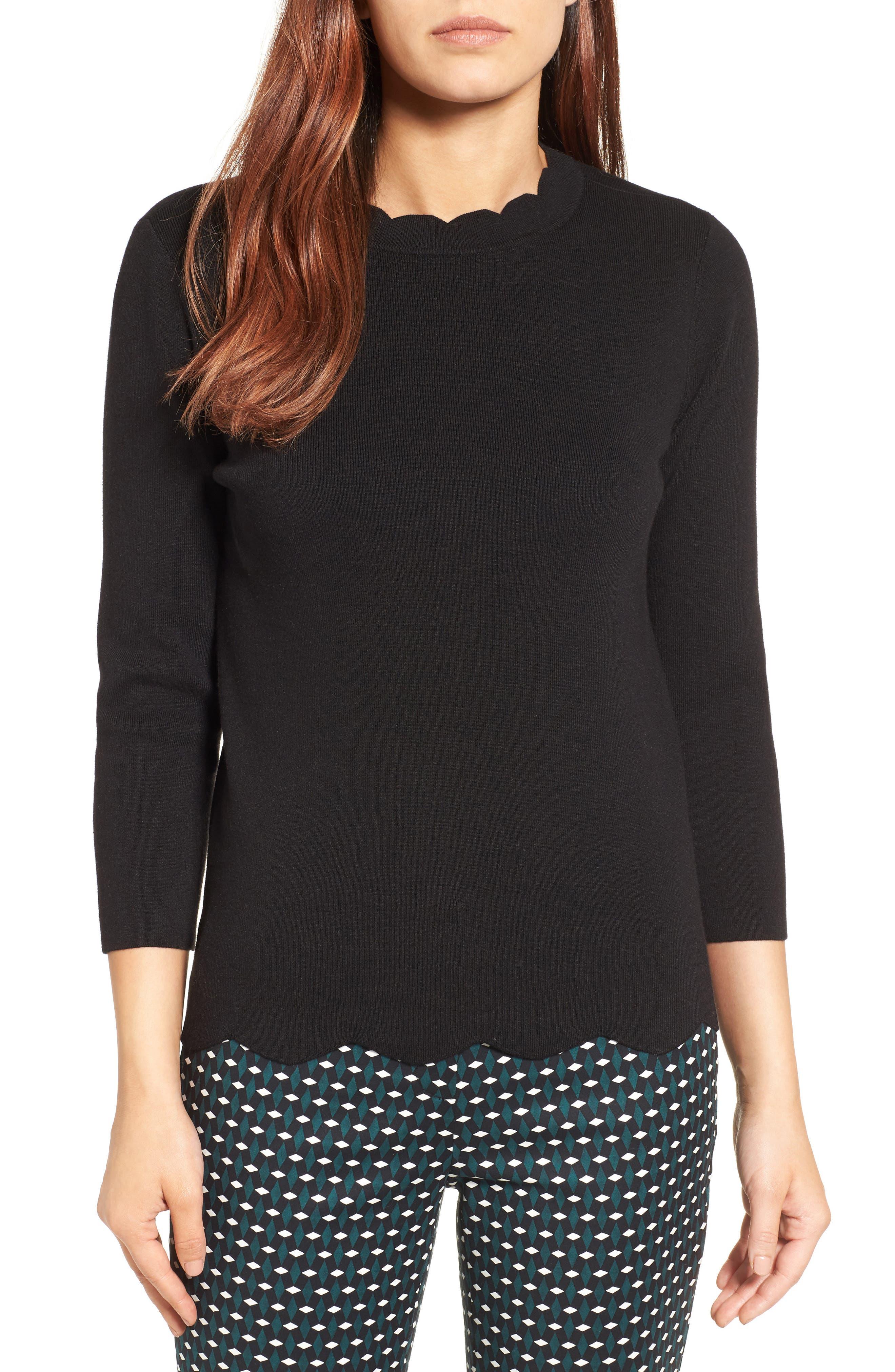 3/4 Sleeve Sweaters & Sweatshirts, Cowl Necks, Cable Knits ...
