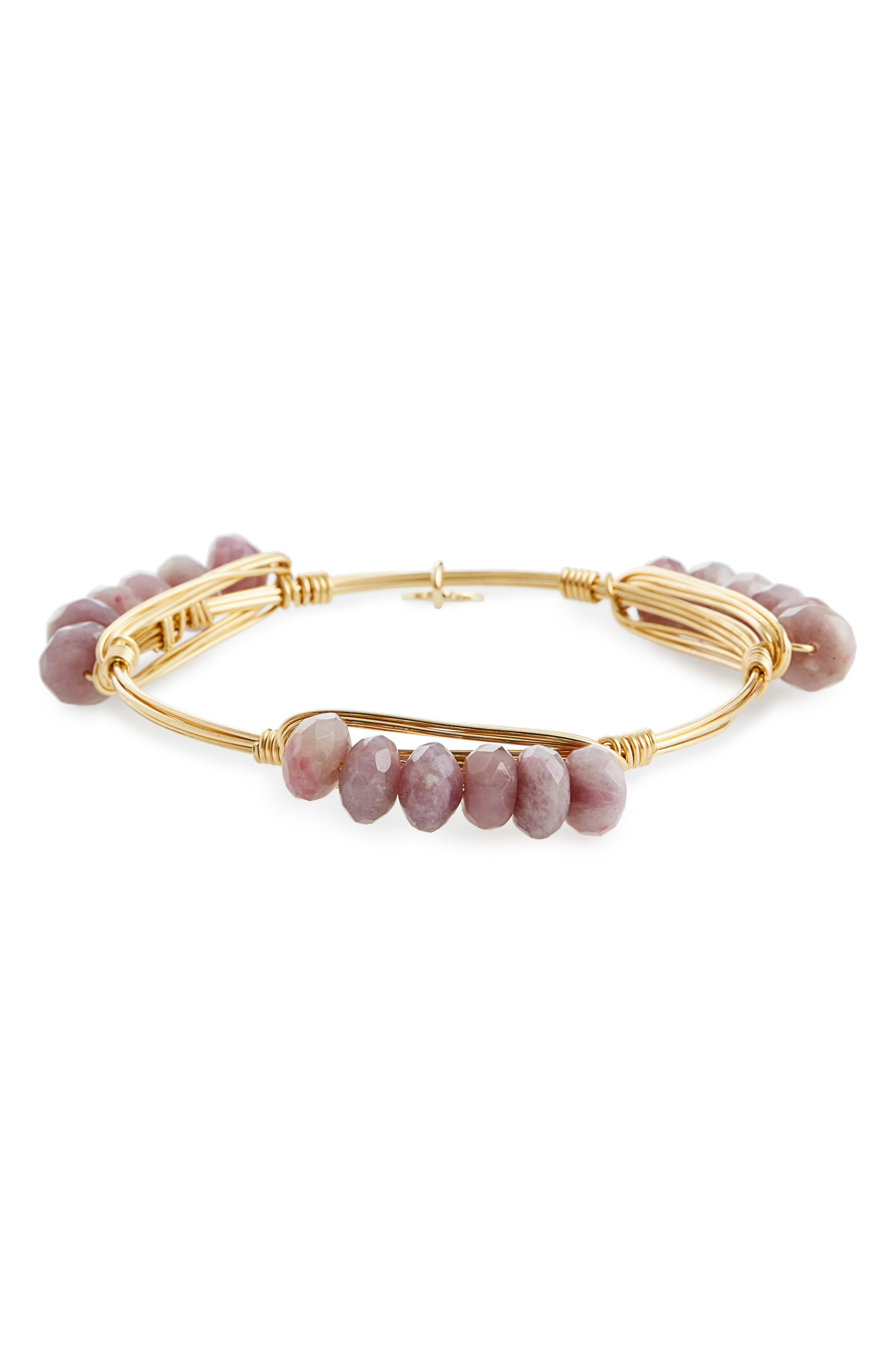 Alternate Image 2  - Bourbon and Boweties Agate Bracelet