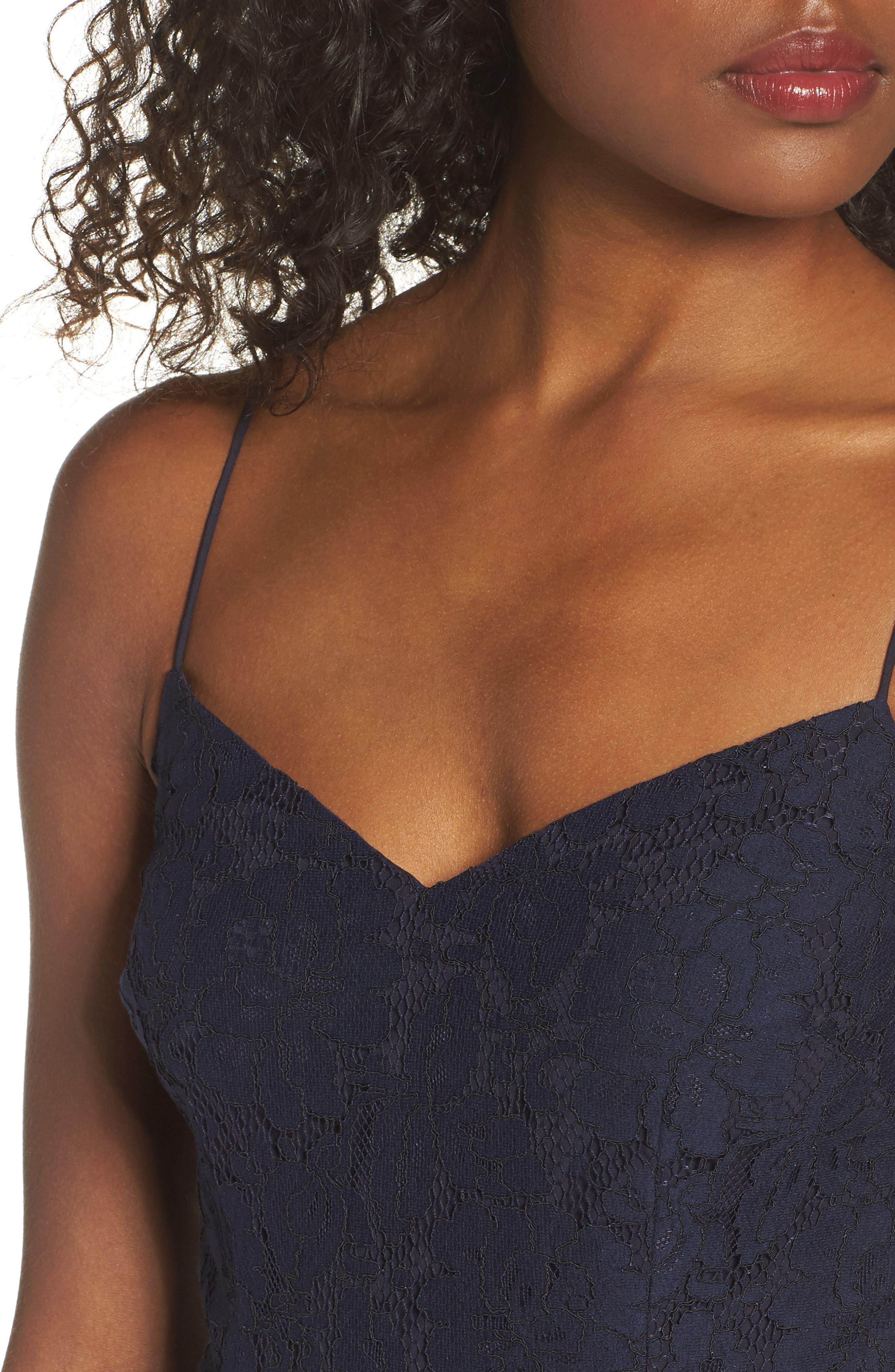 Alternate Image 4  - Cooper St Soho Lace Midi Dress