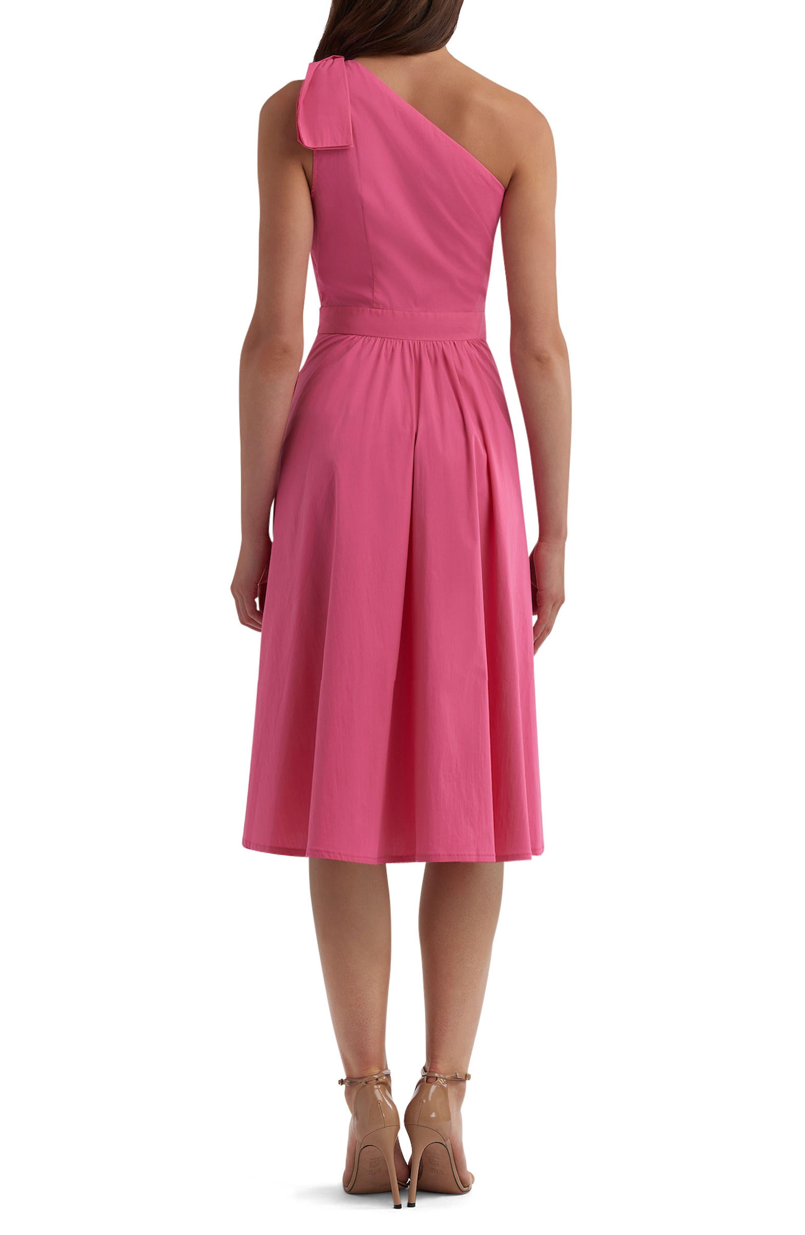 Alternate Image 2  - ECI One-Shoulder Dress