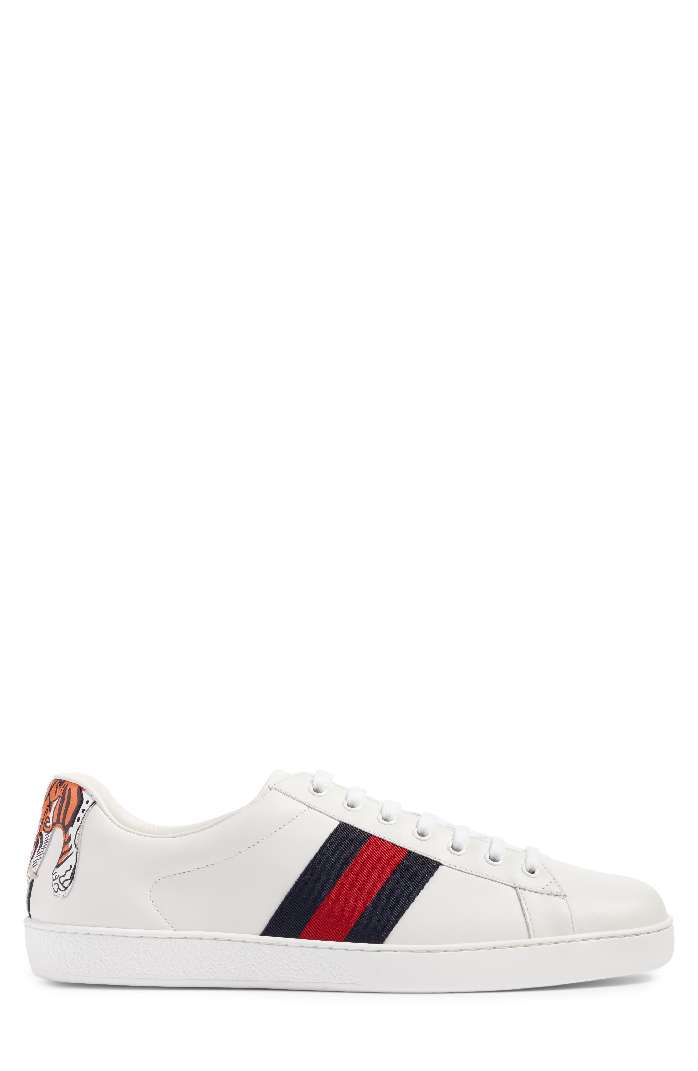 Alternate Image 3  - Gucci New Ace Tiger Sneaker (Men)