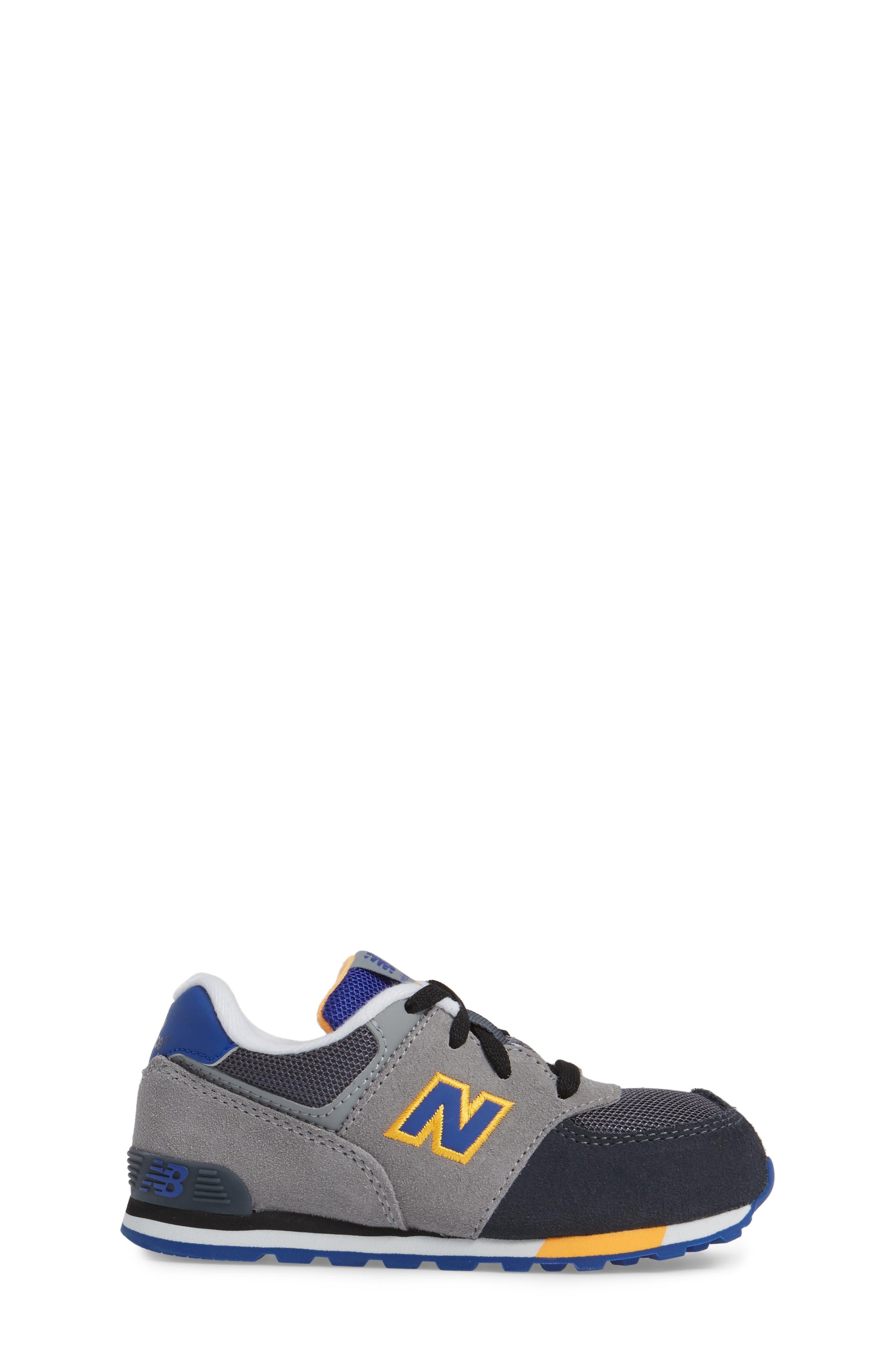 Alternate Image 3  - New Balance 574 Cut & Paste Sneaker (Baby, Walker & Toddler)