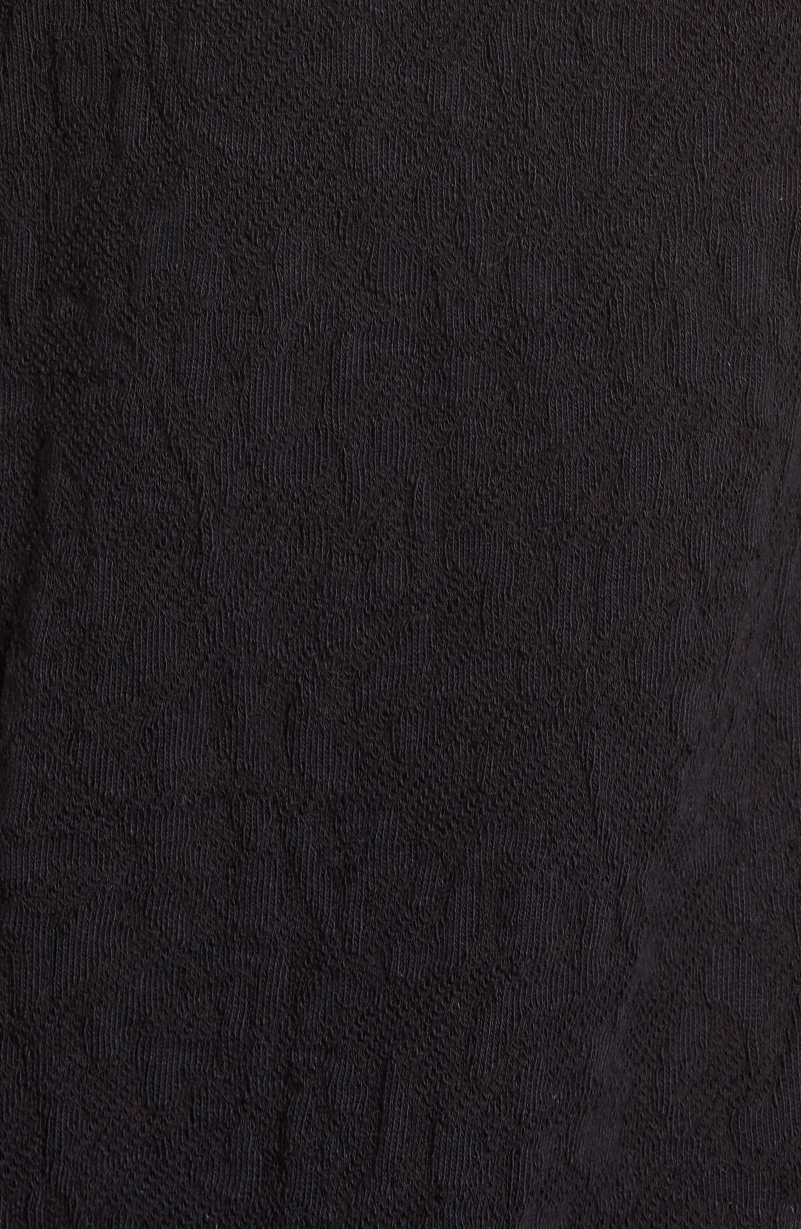 Alternate Image 5  - Lucky Brand Lace Mock Neck