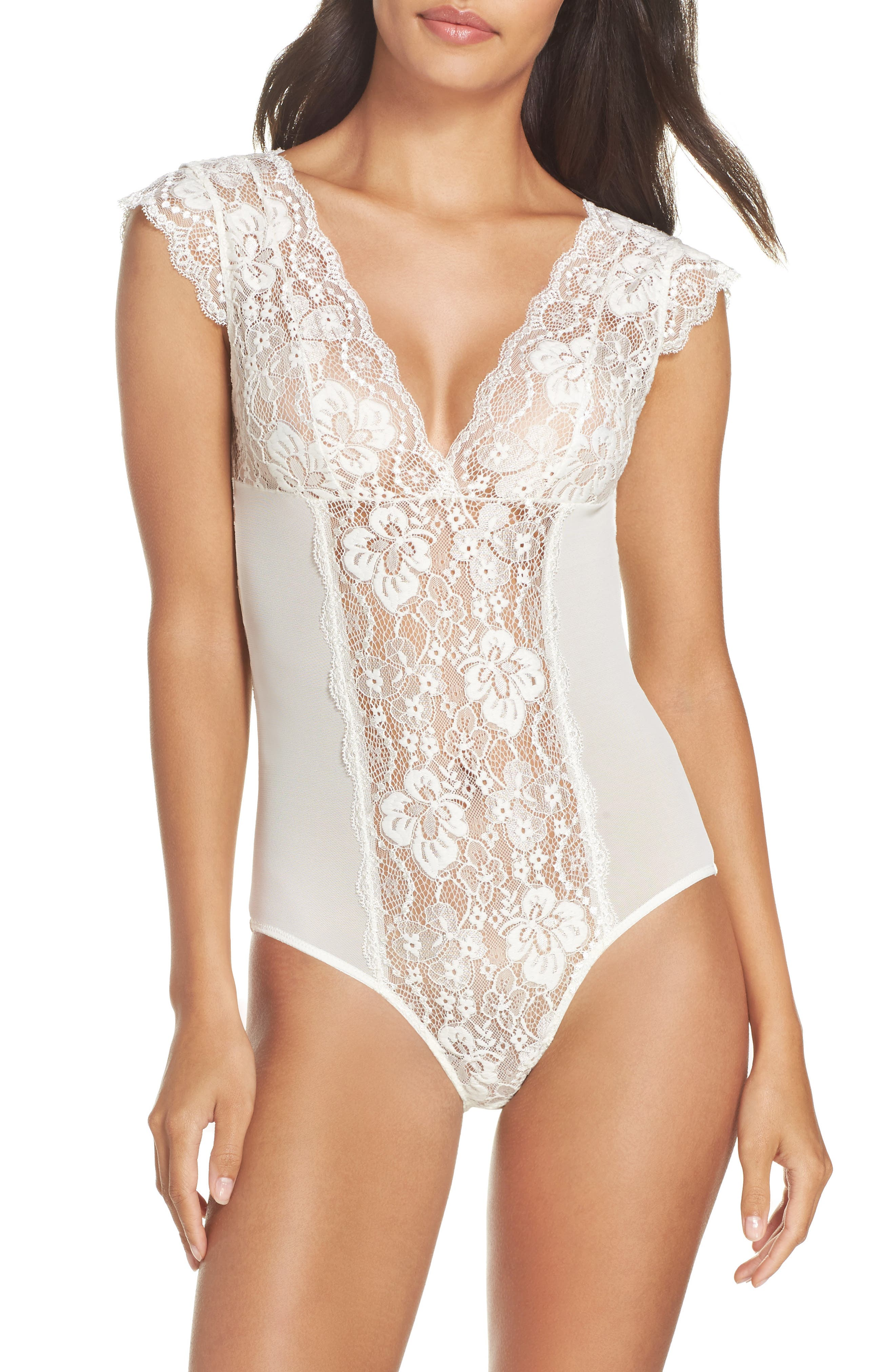 Sheer Teddy,                         Main,                         color, Ivory