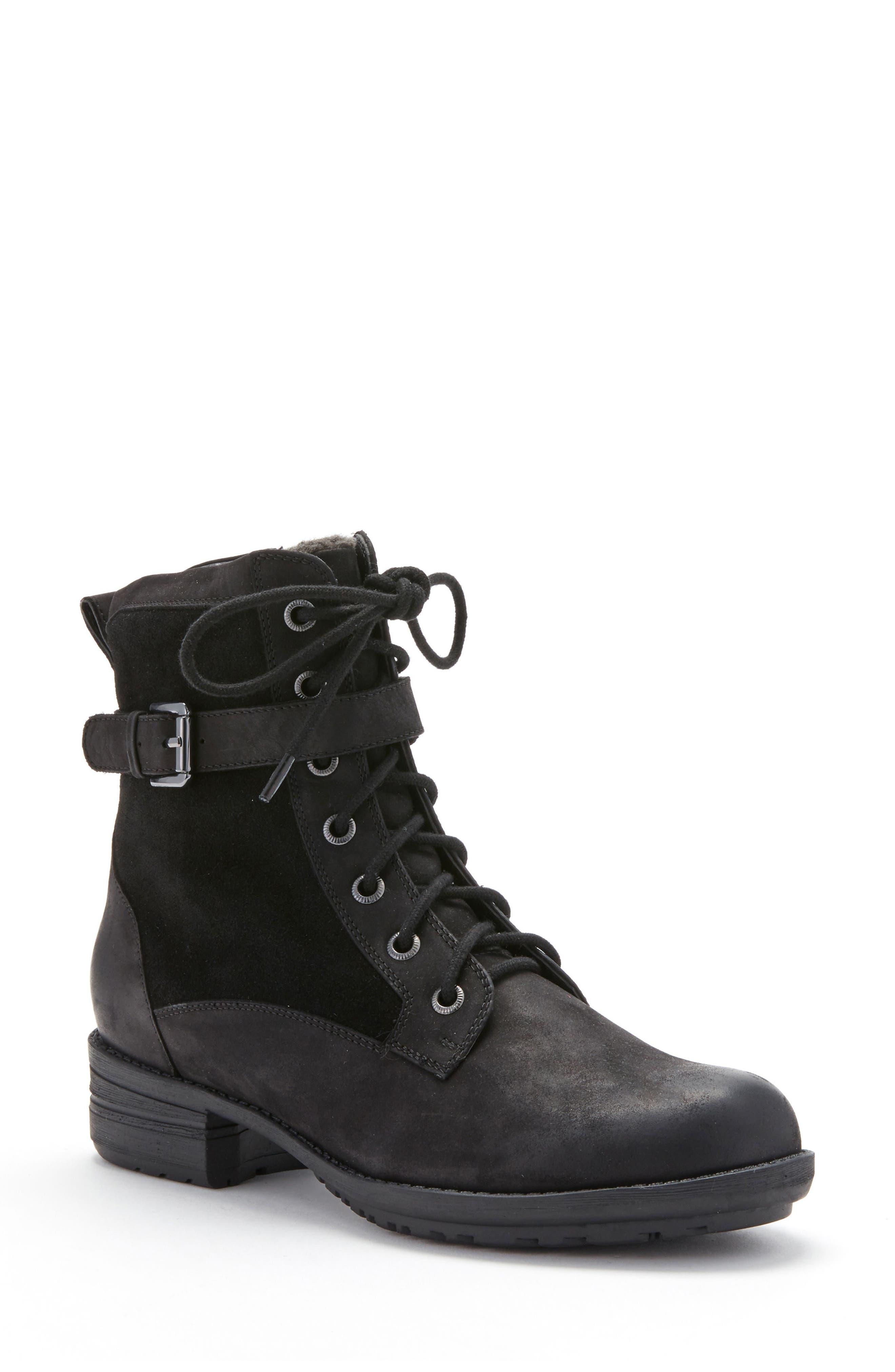 Alternate Image 1 Selected - Blondo Tunes Waterproof Moto Boot (Women)