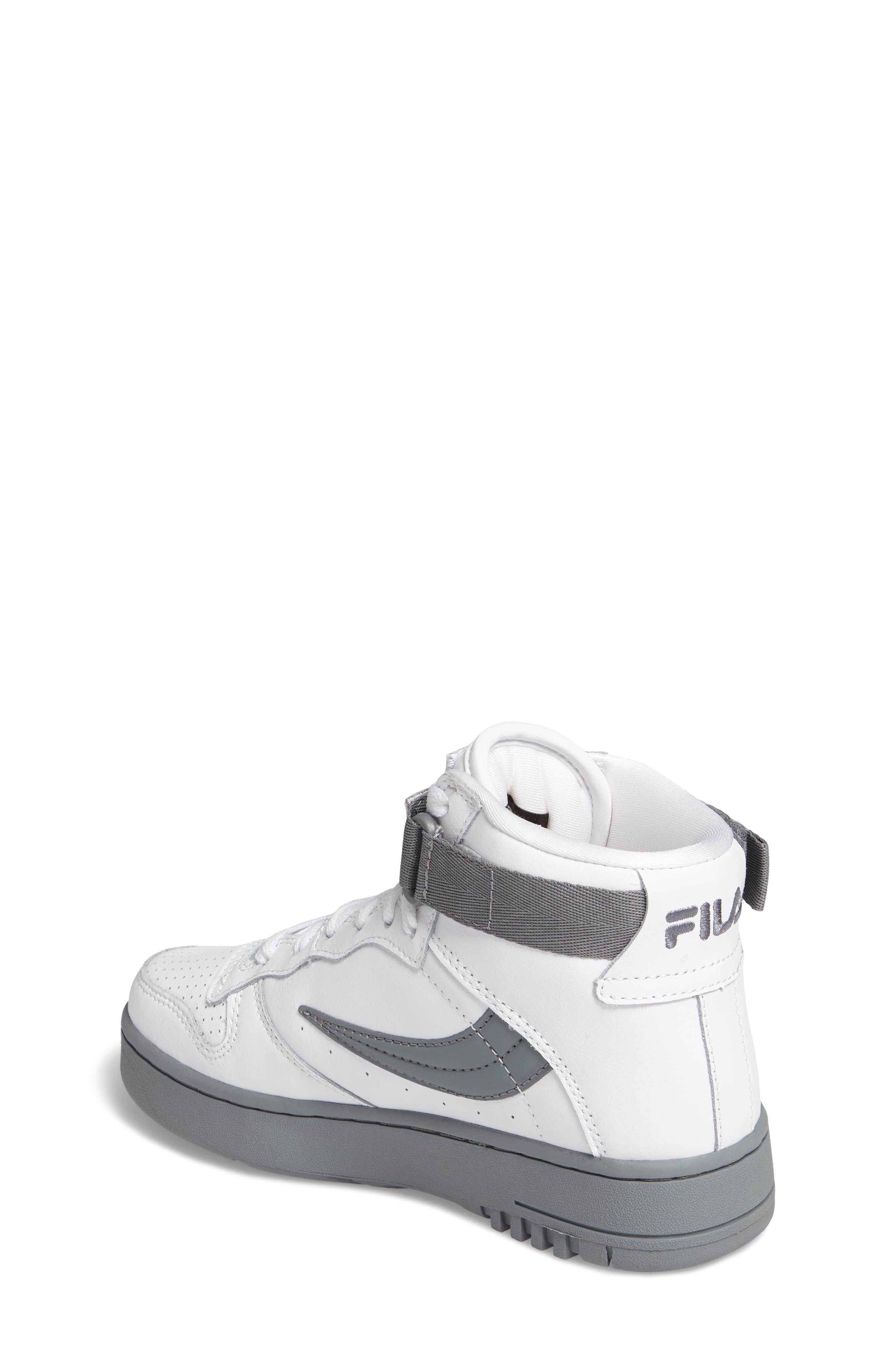 Alternate Image 2  - FILA FX-100 High Top Sneaker (Big Kid)