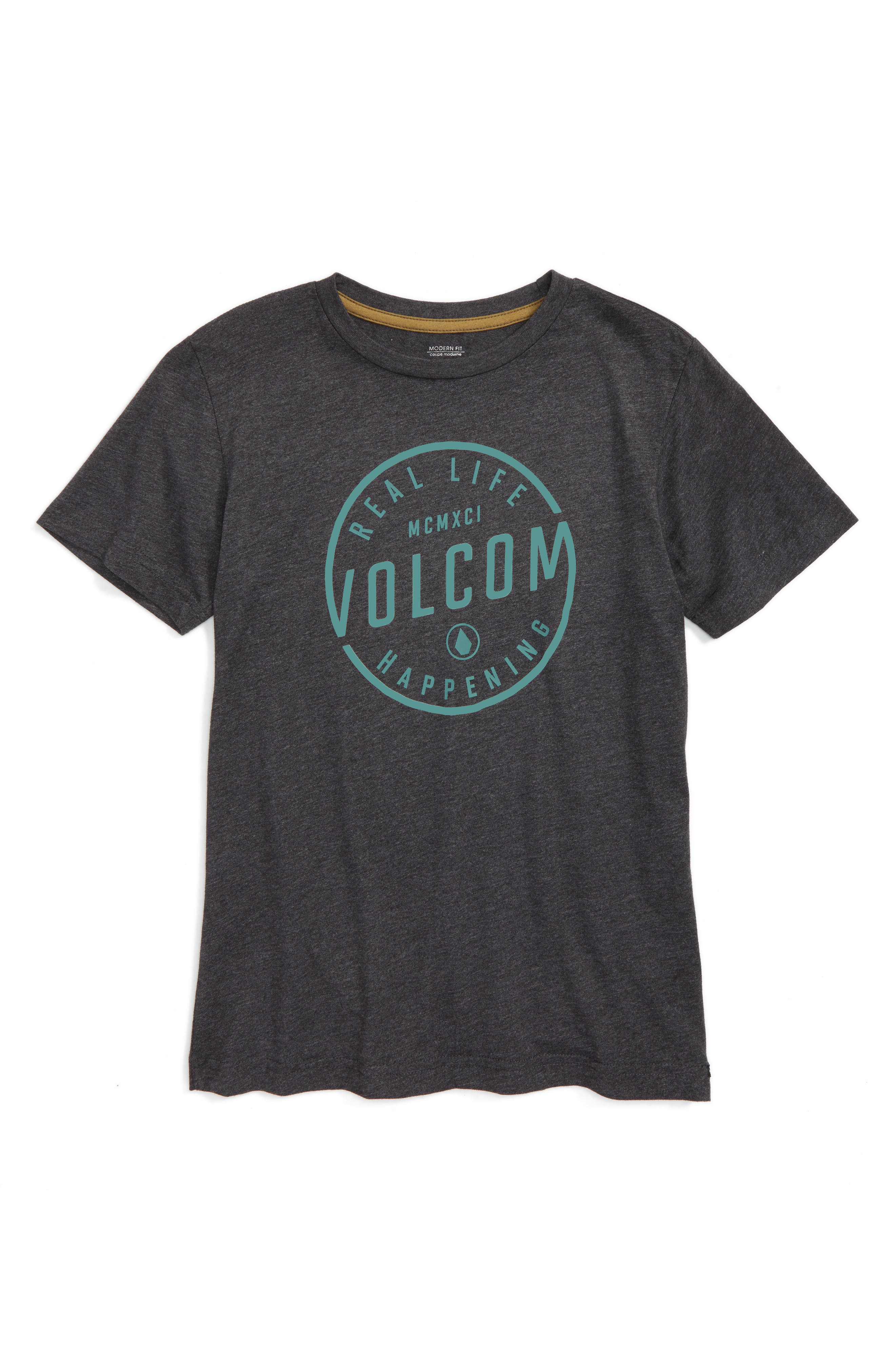 Volcom On Lock Graphic T-Shirt (Toddler Boys, Little Boys & Big Boys)