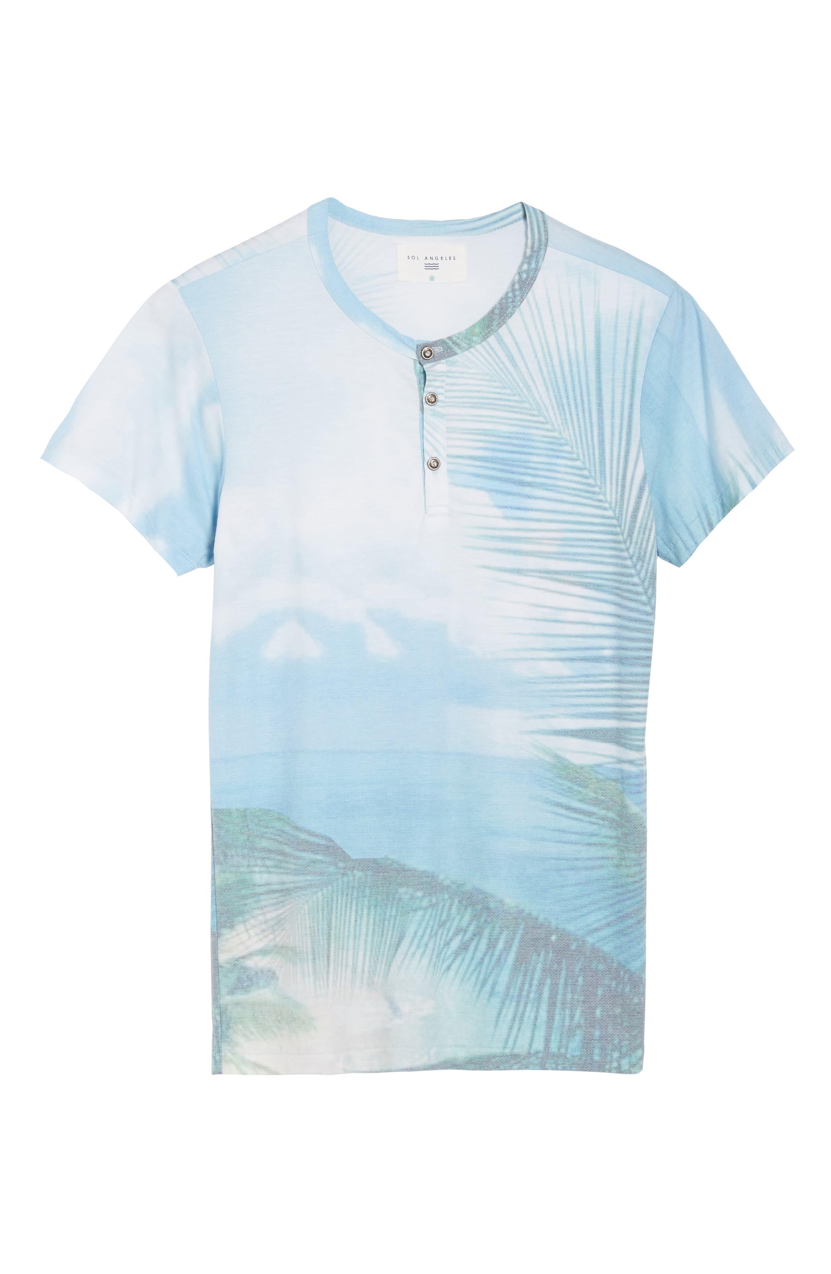 Quintana Henley T-Shirt,                             Alternate thumbnail 6, color,                             Quintanna