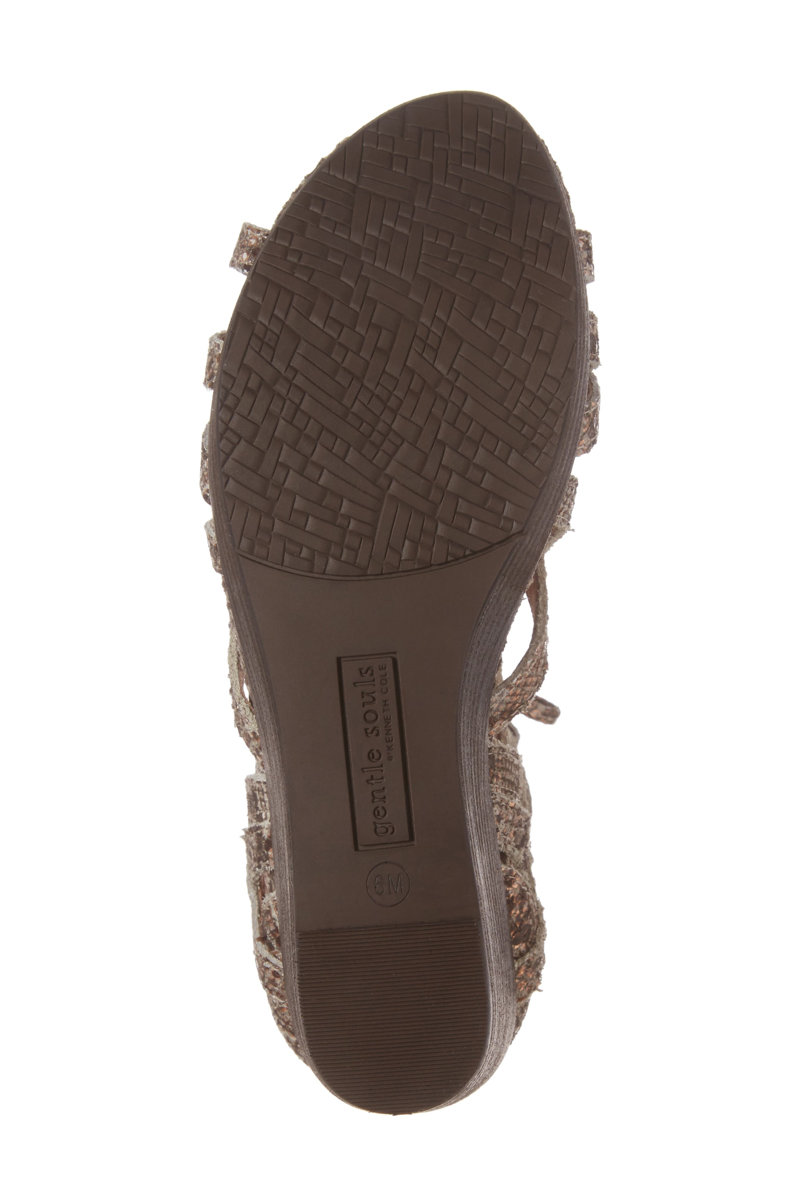 Alternate Image 6  - Gentle Souls 'Joy' Lace Up Nubuck Sandal (Women)