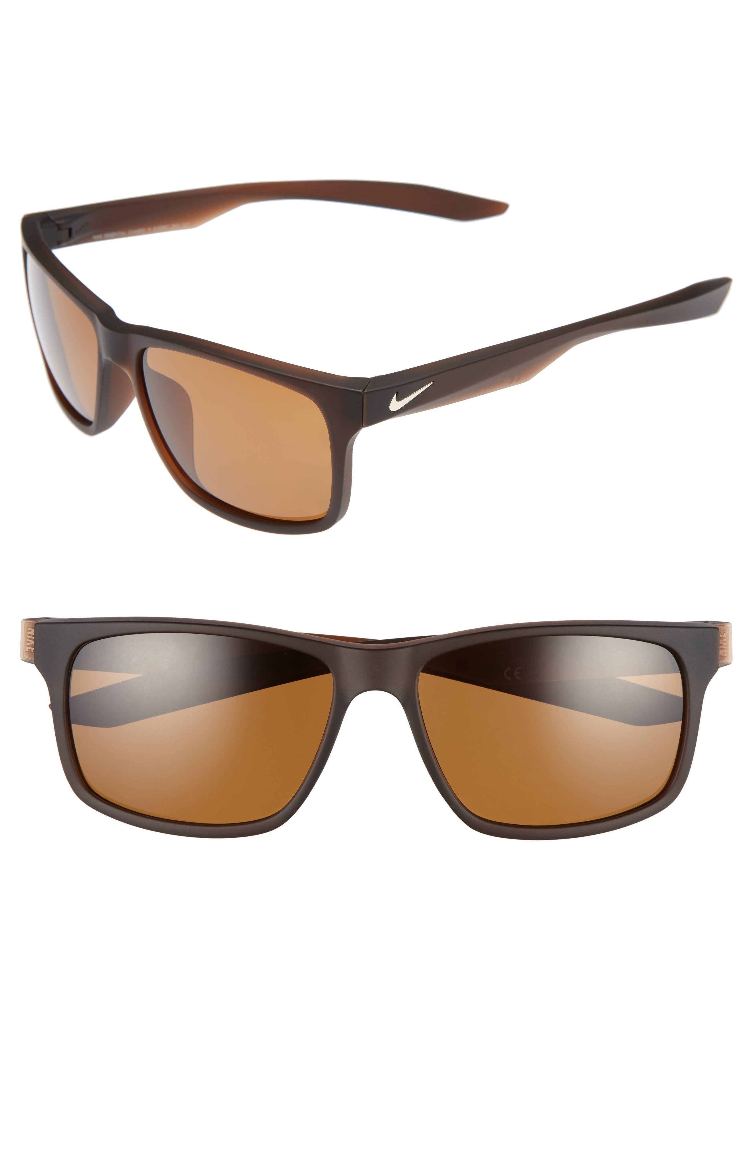Nike Unrest 57Mm Polarized Sunglasses - Matte Black  Deep Pewter In ... eba1a4fabf