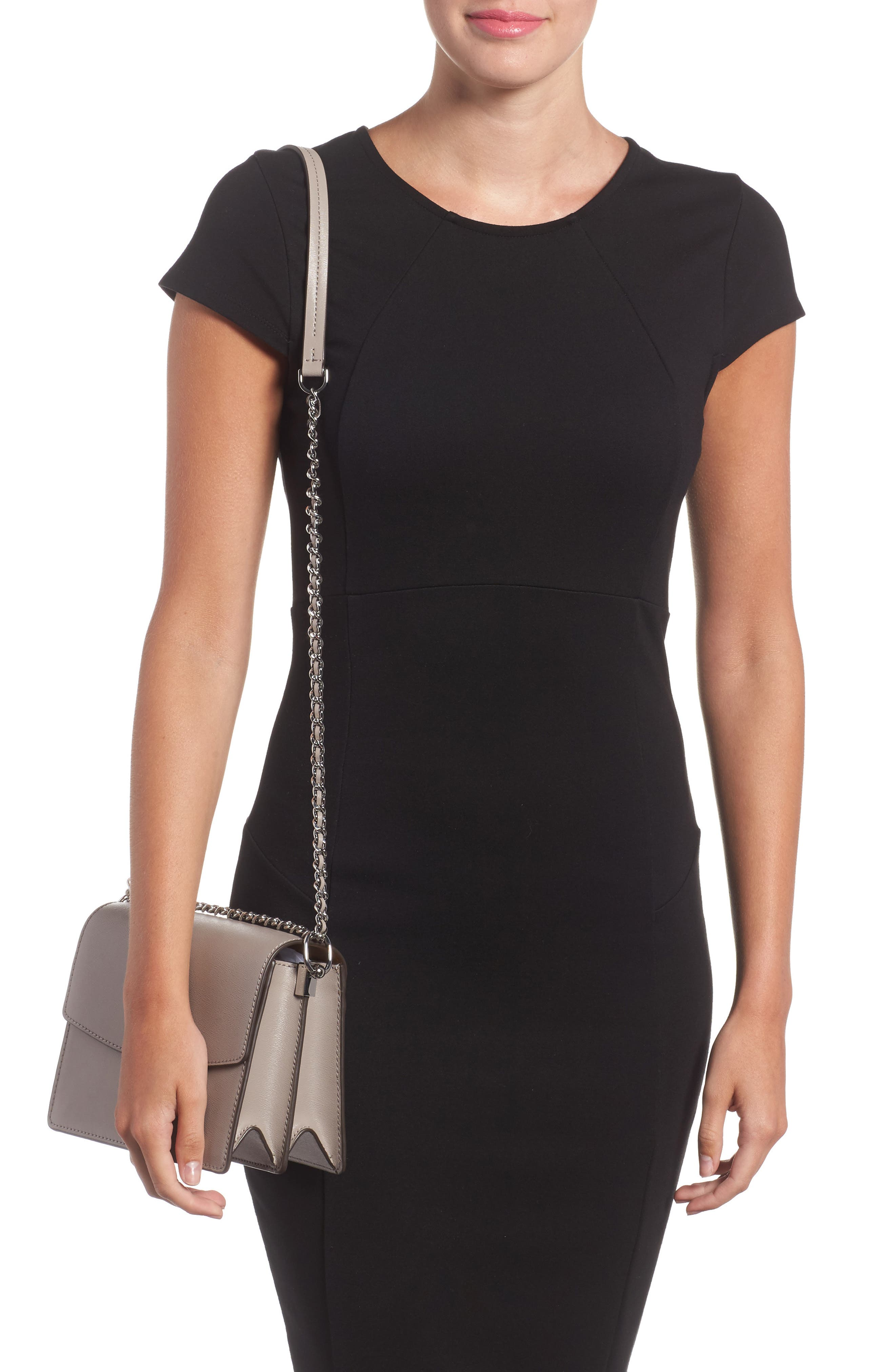 Alternate Image 2  - Tory Burch Parker Leather Shoulder/Crossbody Bag