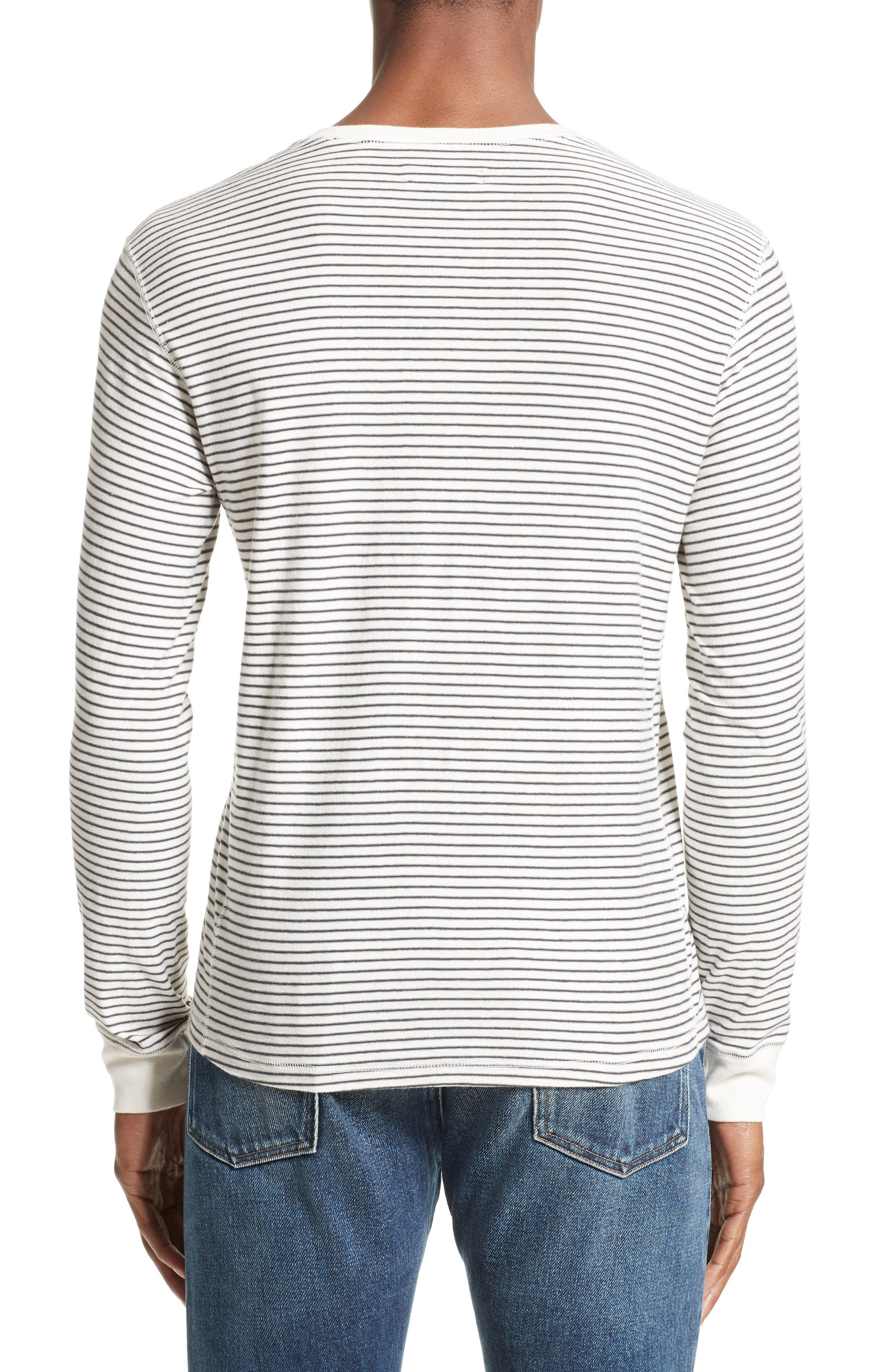 Alternate Image 2  - Levi's® Made & Crafted™ Stripe Henley