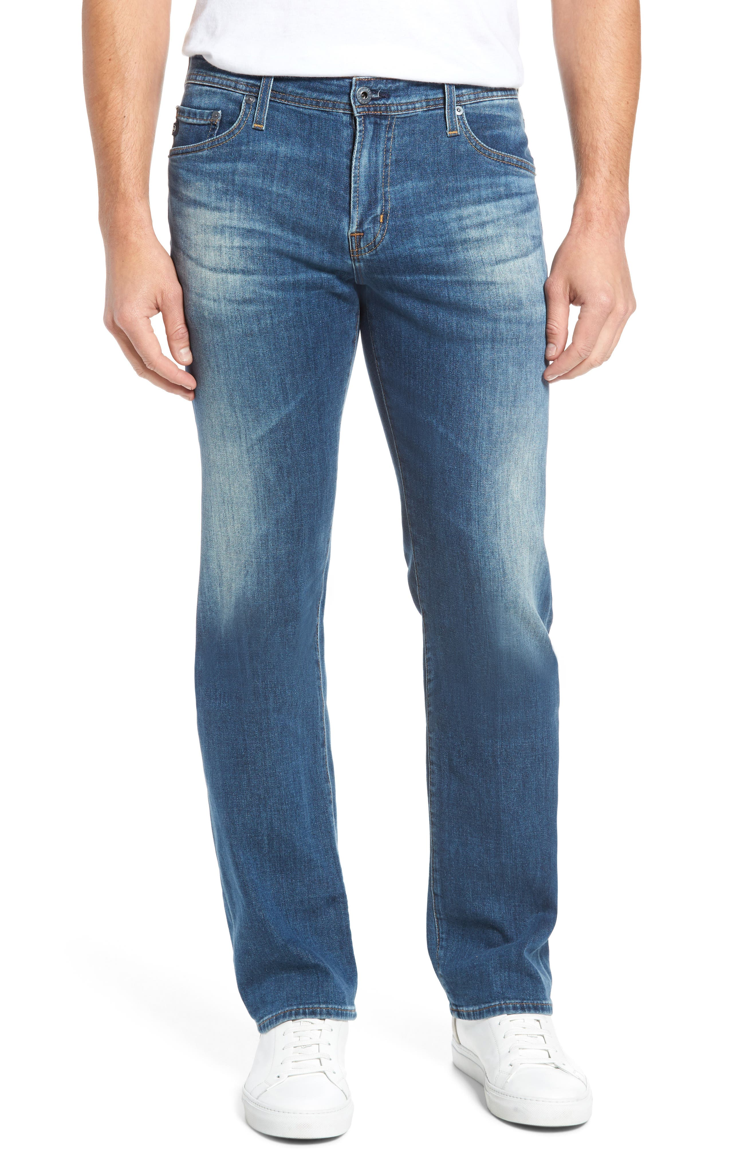 Protégé Relaxed Fit Jeans,                             Main thumbnail 1, color,                             Four Rivers