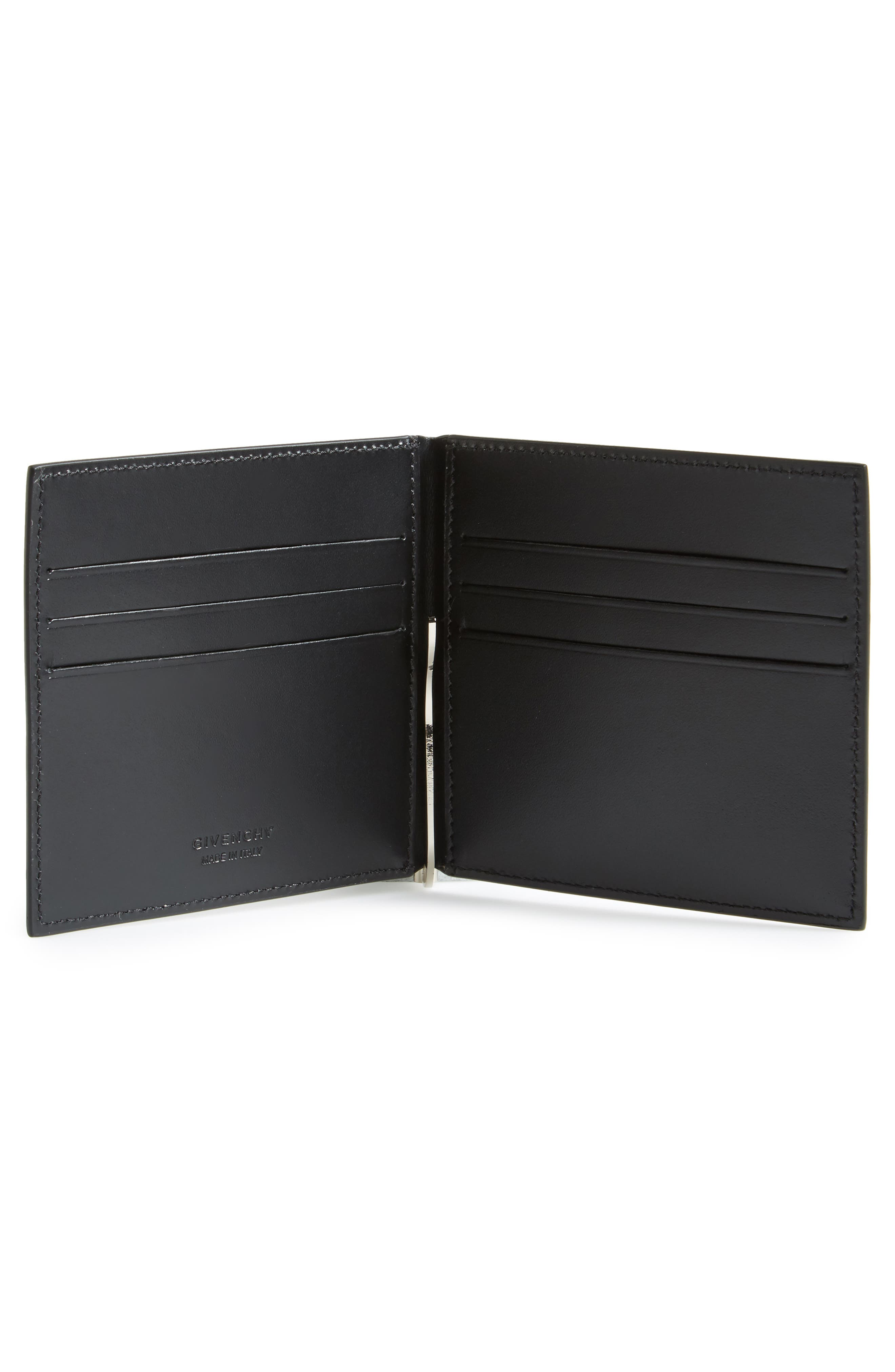 Alternate Image 2  - Givenchy Big Logo Money Clip Wallet