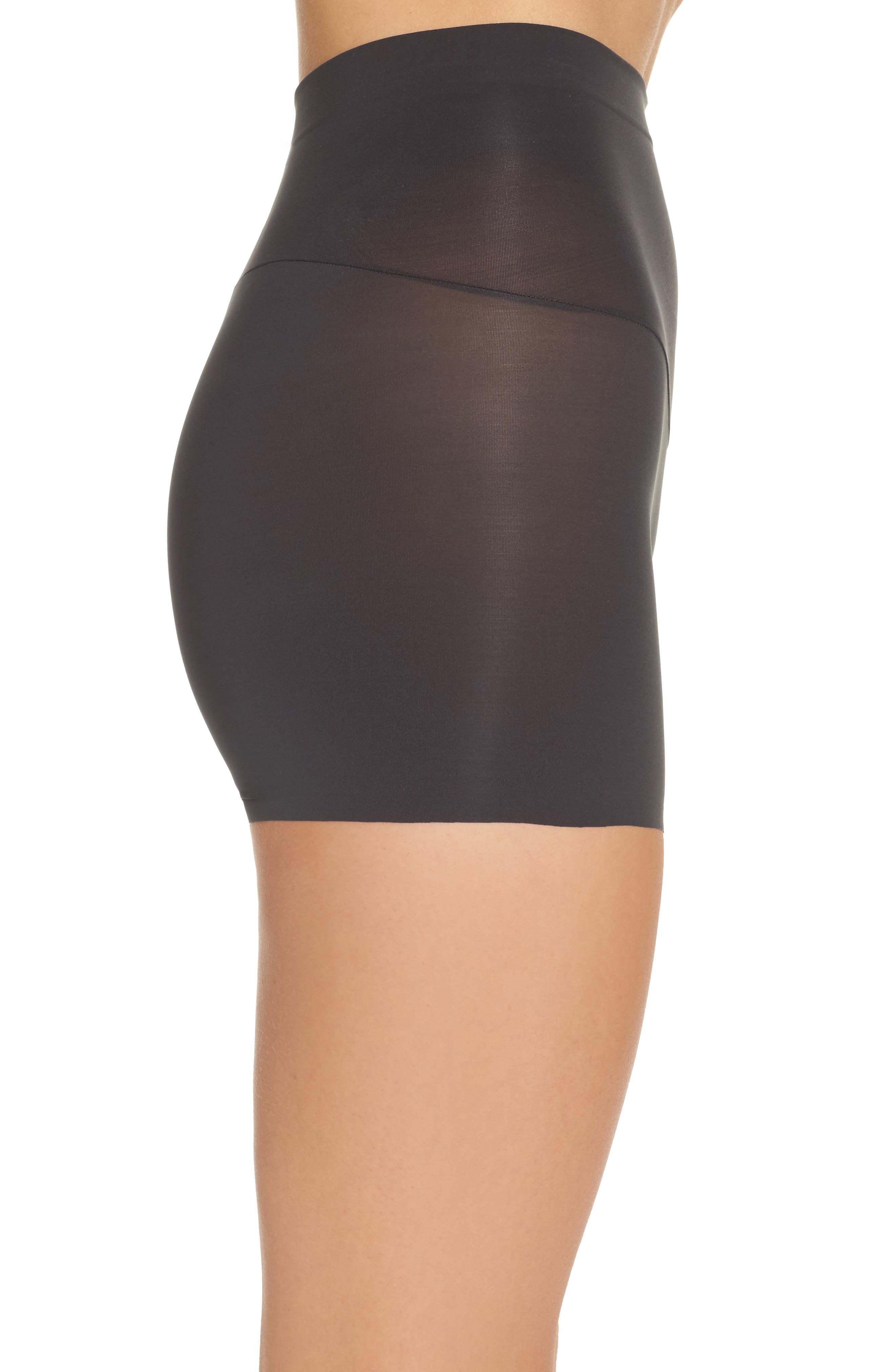 Shape My Day Girl Shorts,                             Alternate thumbnail 3, color,                             Black