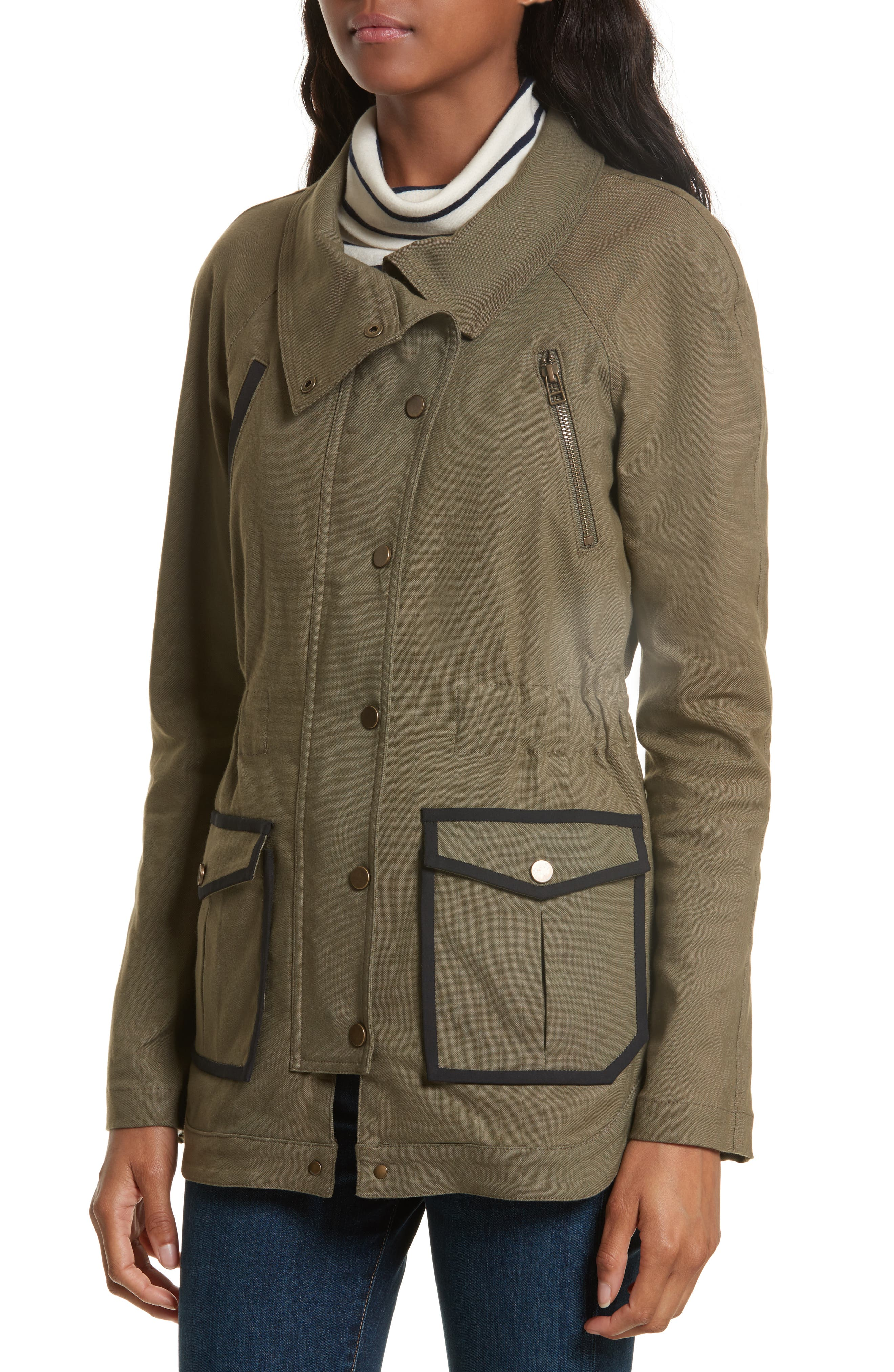 Army Jacket,                             Alternate thumbnail 4, color,                             Army Green