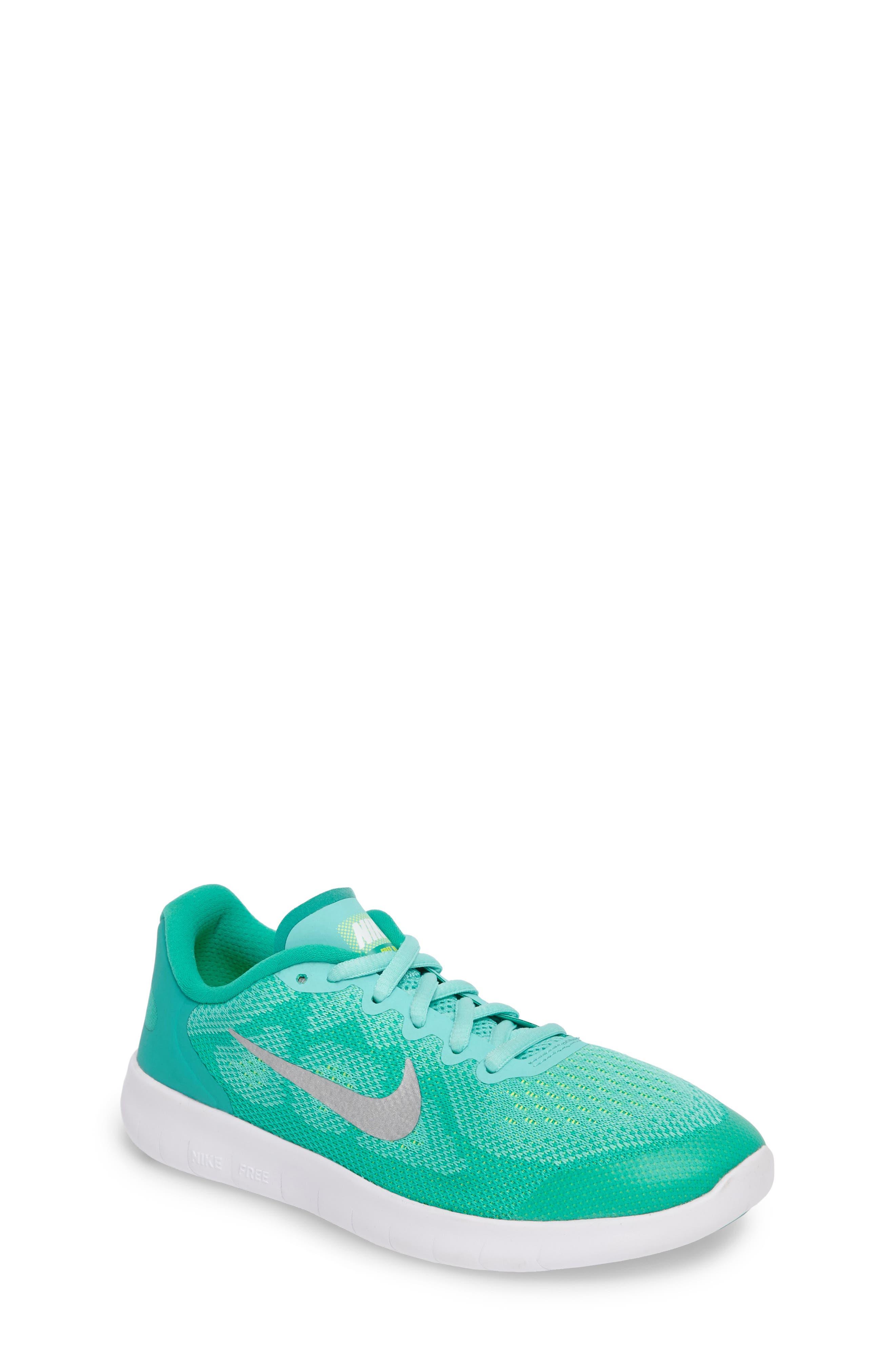 Alternate Image 1 Selected - Nike Free Run 2 Athletic Shoe (Big Kid)