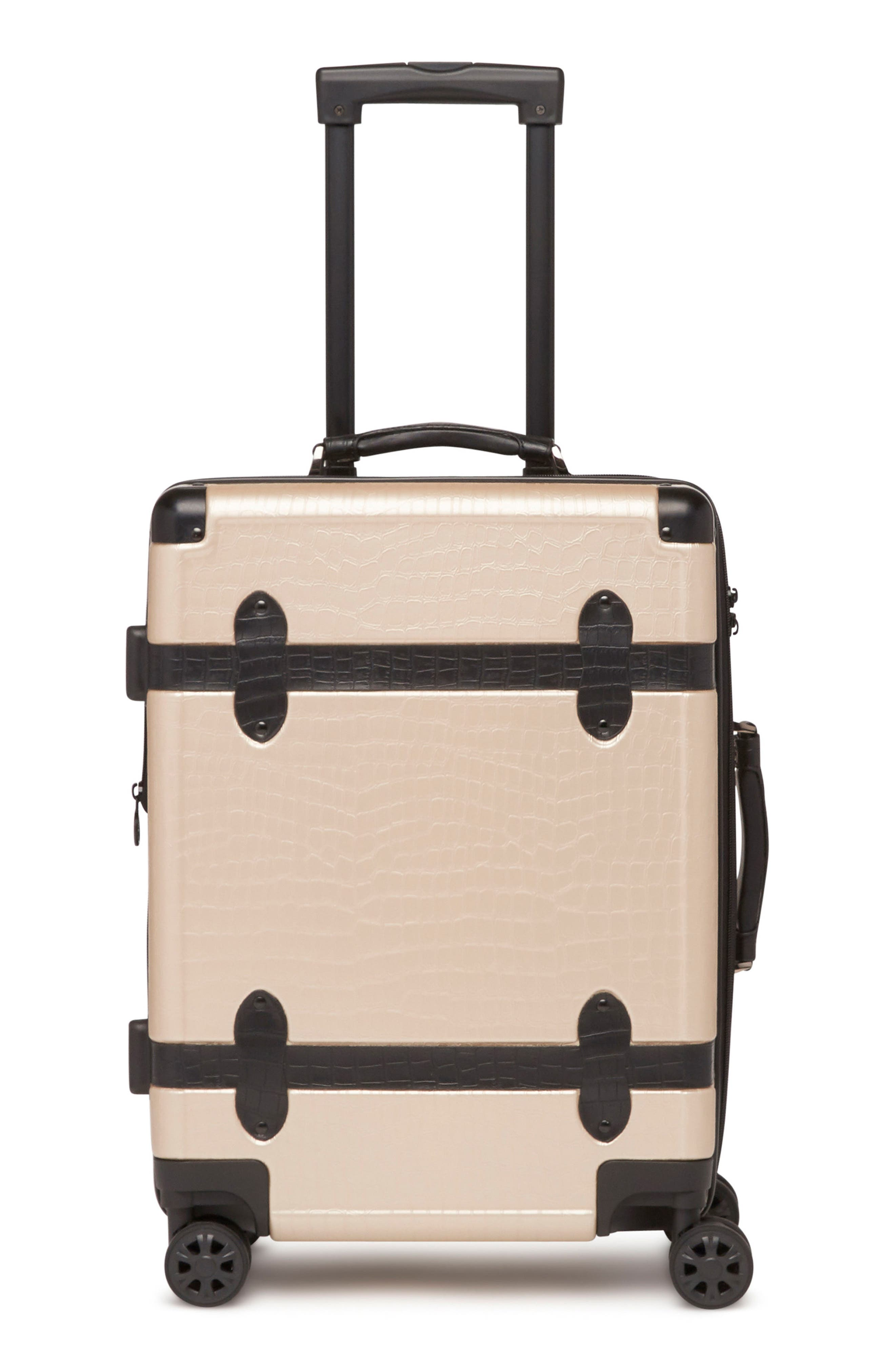 20-Inch & 28-Inch Trunk Rolling Luggage Set,                             Alternate thumbnail 2, color,                             Nude