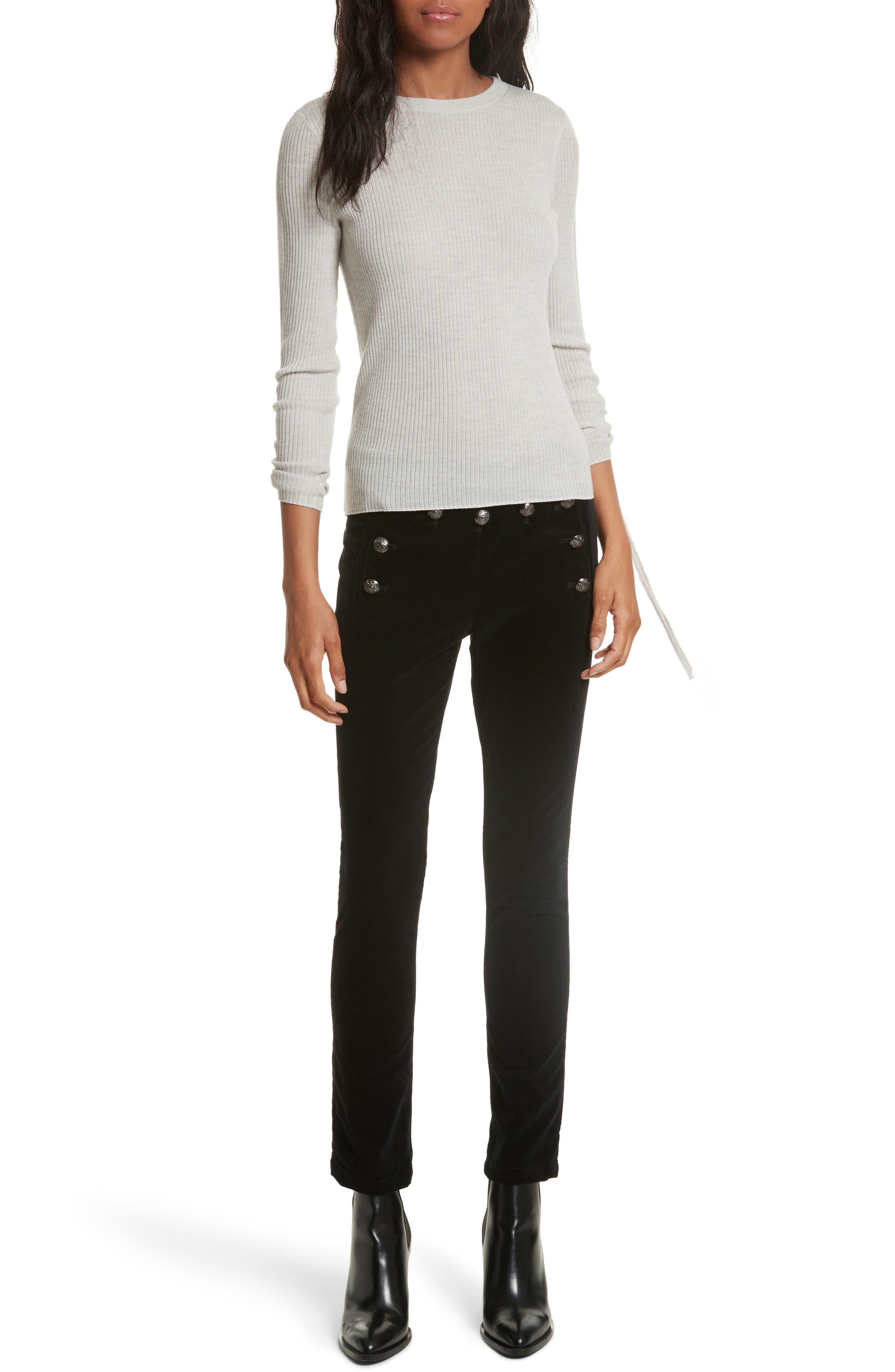 Alternate Image 2  - Veronica Beard Jane Velvet Jeans