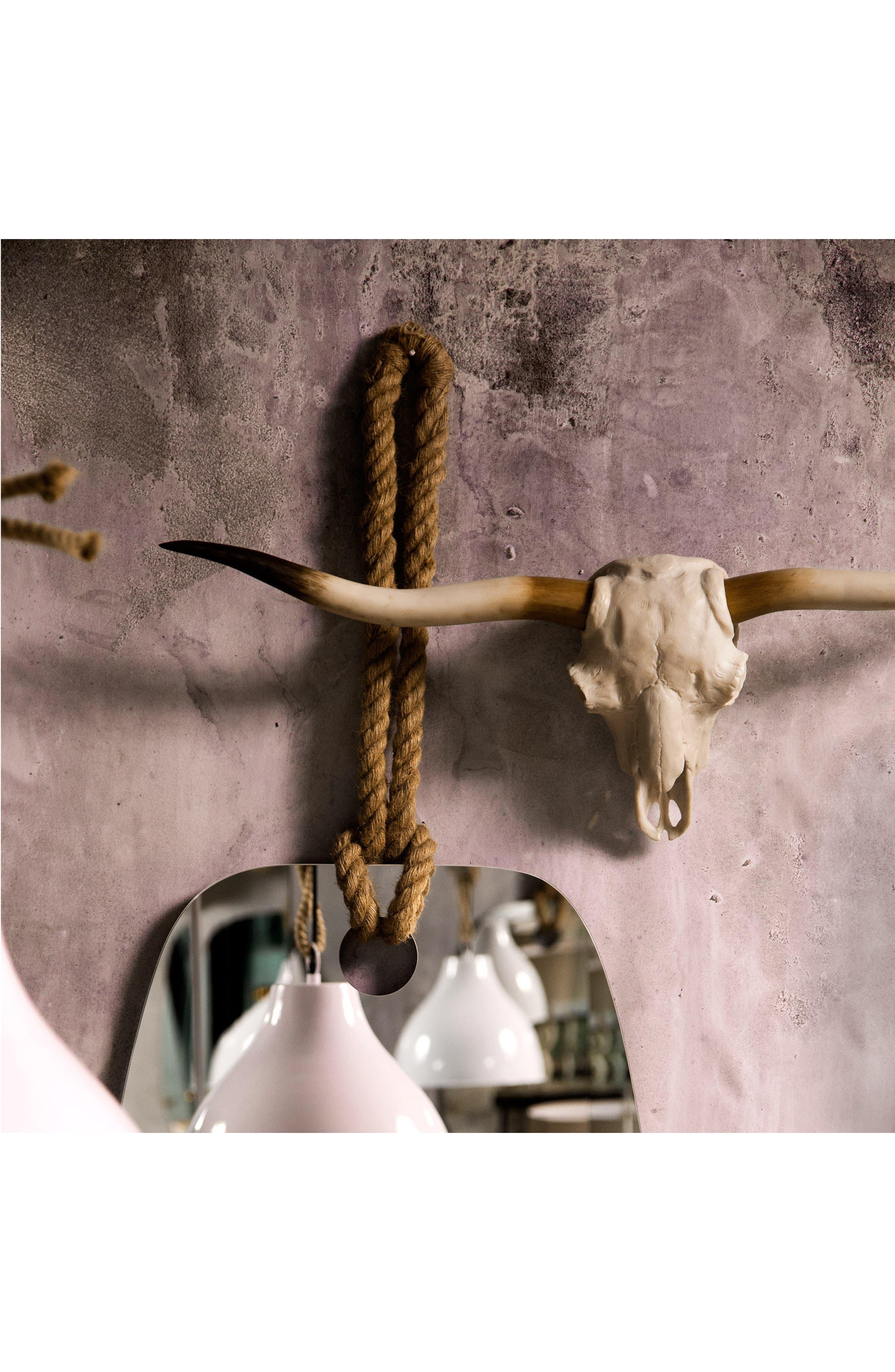 Alternate Image 2  - Renwil Resin Longhorn Skull Wall Ornament