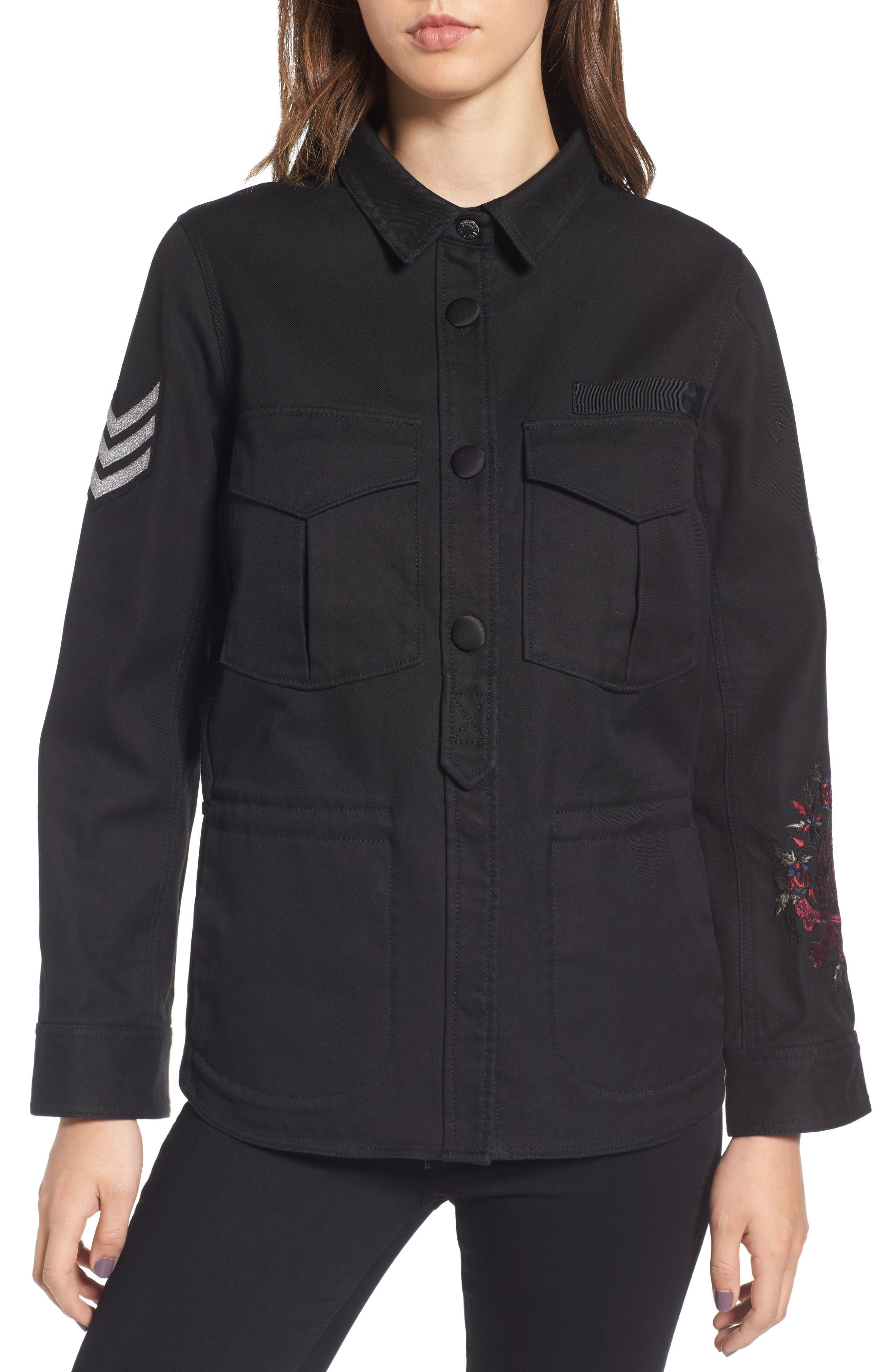 Zadig & Voltaire Tackl Army Jacket