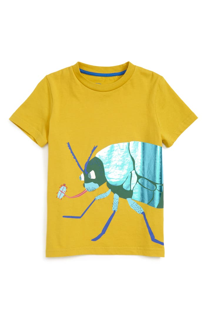 Mini boden jungle bugs t shirt toddler boys little boys for Boden 20 rabatt