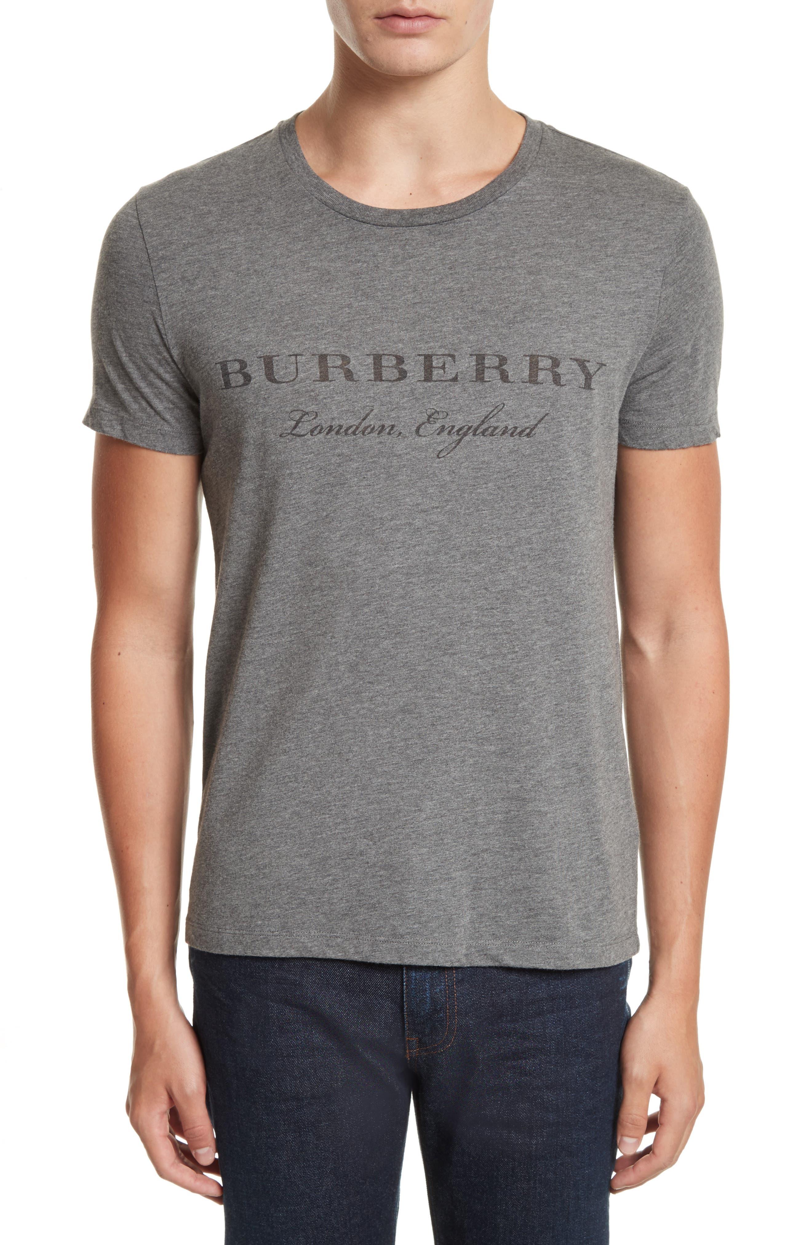 Martford Regular Fit T-Shirt,                         Main,                         color, Grey Melange