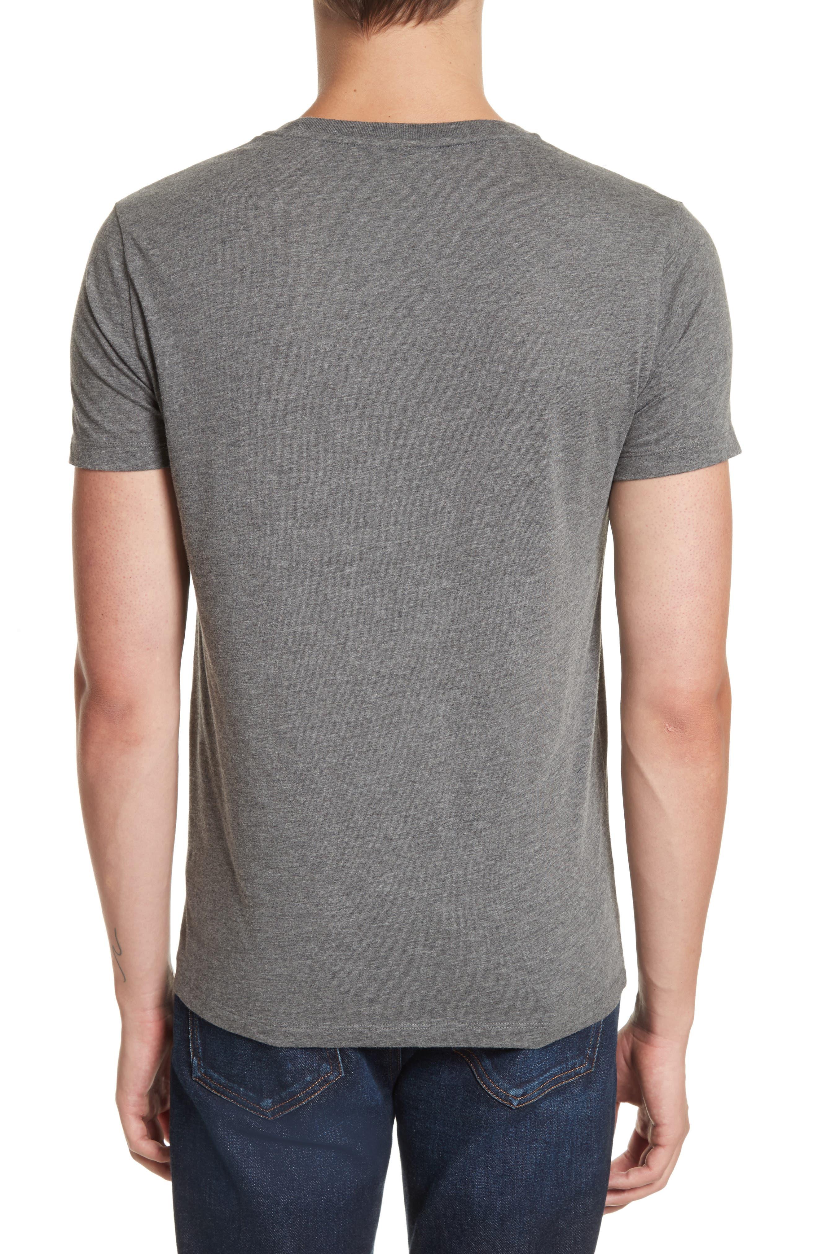 Martford Regular Fit T-Shirt,                             Alternate thumbnail 2, color,                             Grey Melange