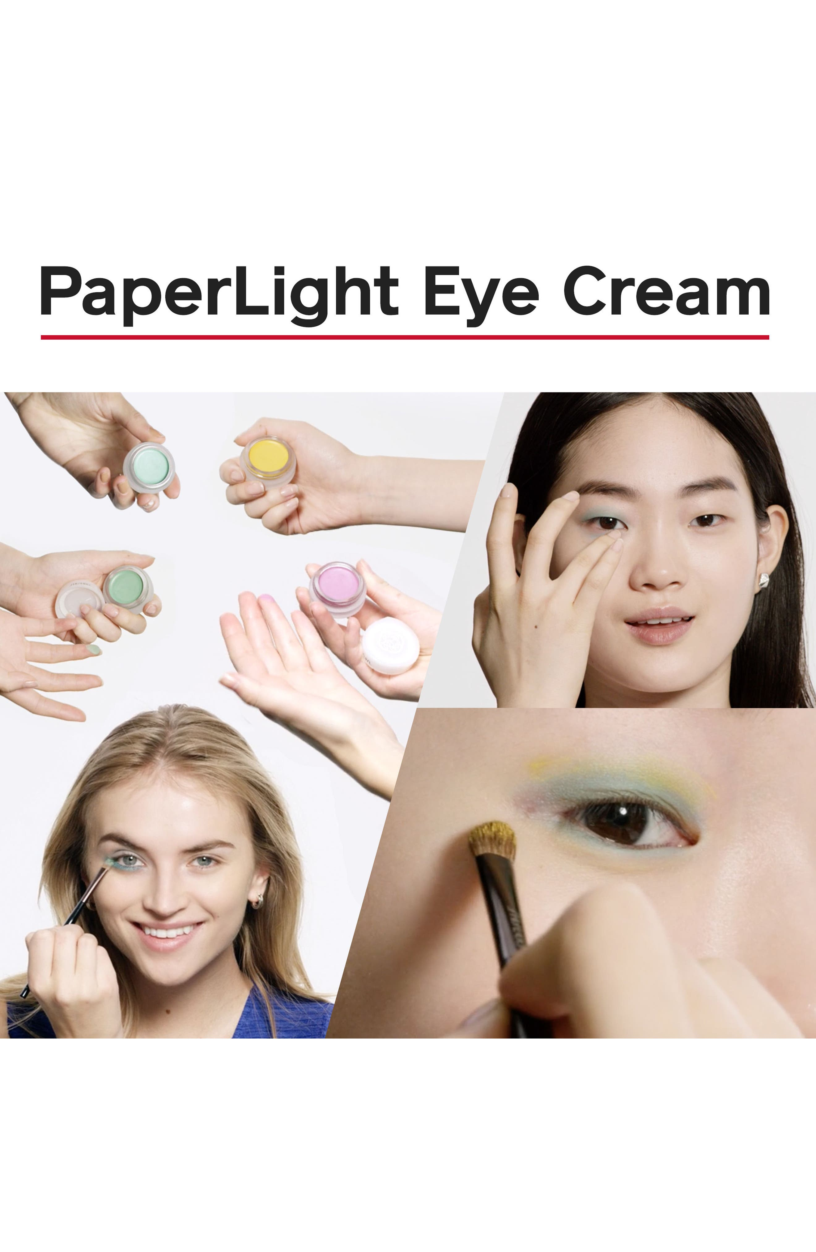 Alternate Image 3  - Shiseido Paperlight Cream Eye Color