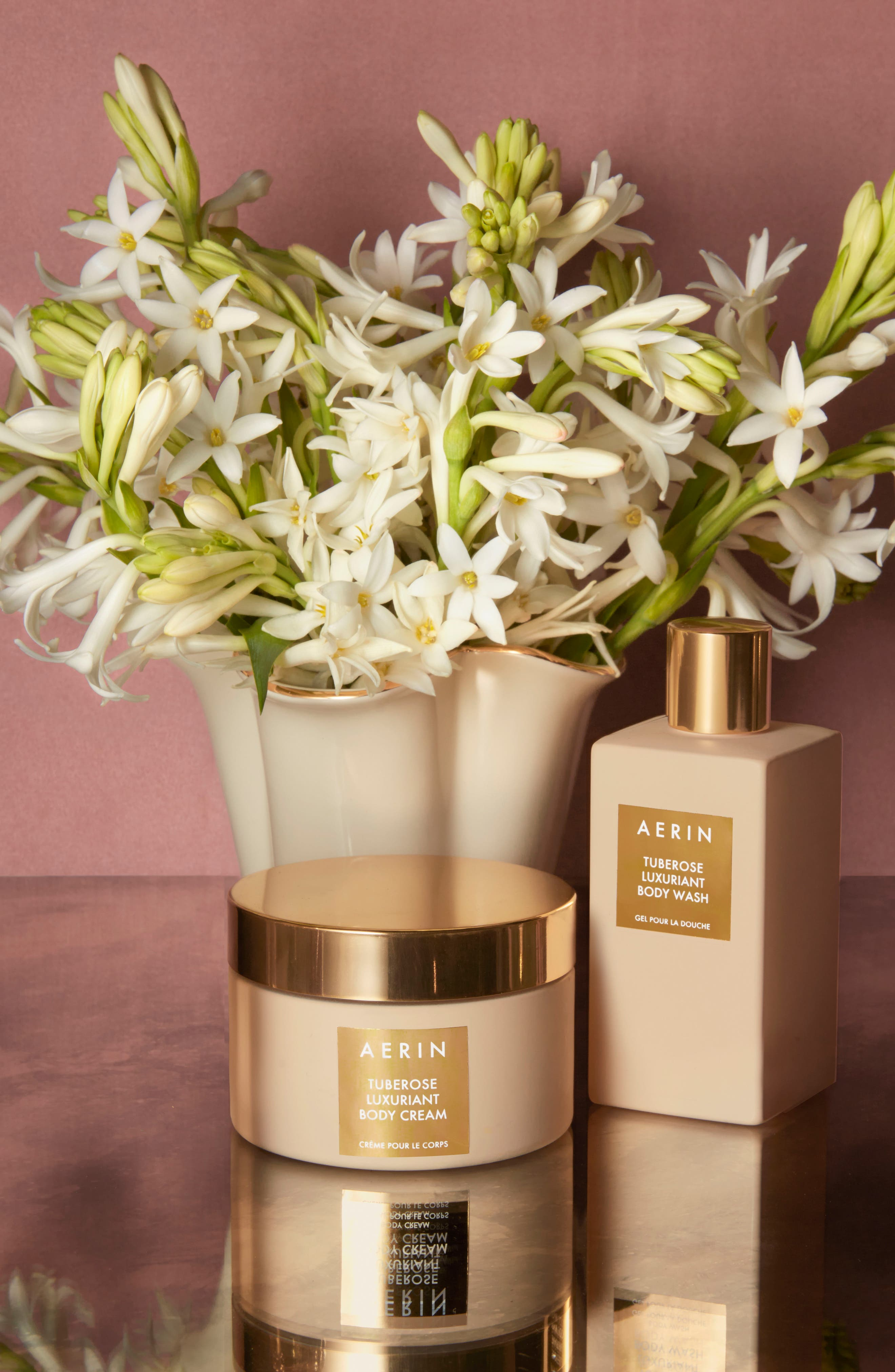 AERIN Beauty Tuberose Luxuriant Body Cream,                             Alternate thumbnail 2, color,                             No Color
