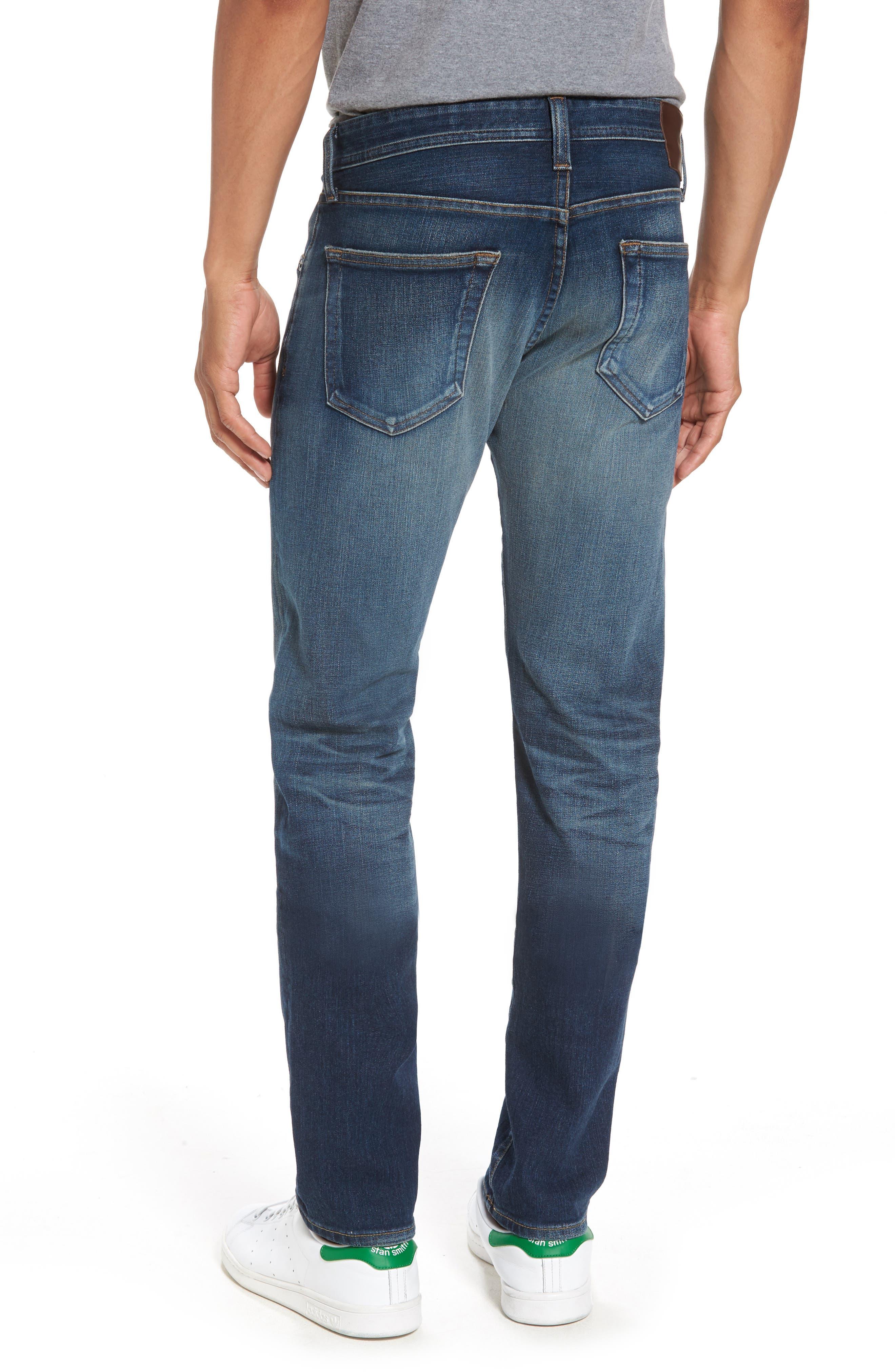 Alternate Image 2  - AG Tellis Slim Fit Jeans (10 Years Shortcut)