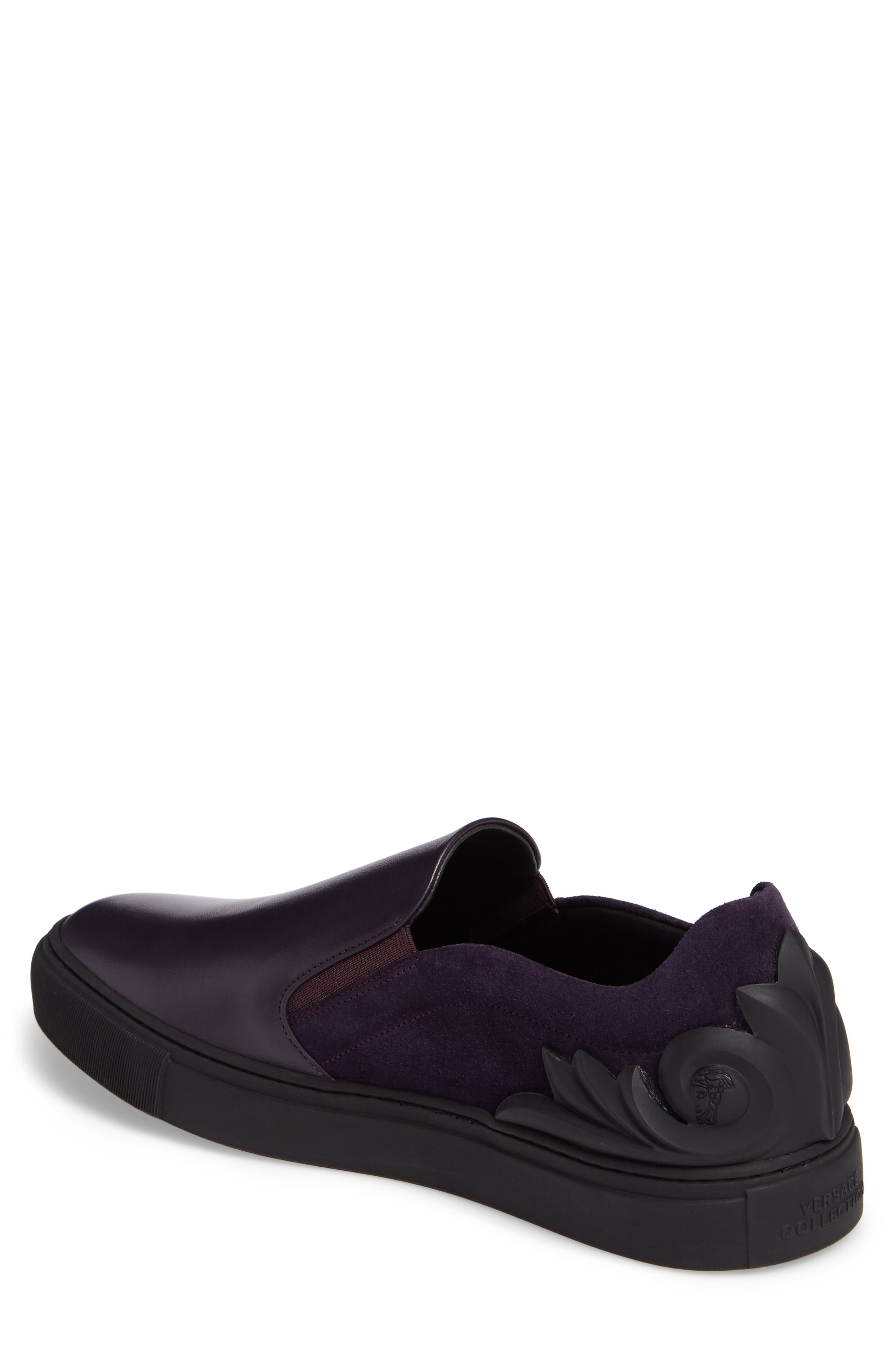 Collection Baroque Slip-On,                             Alternate thumbnail 2, color,                             Must/ Nikel Leather
