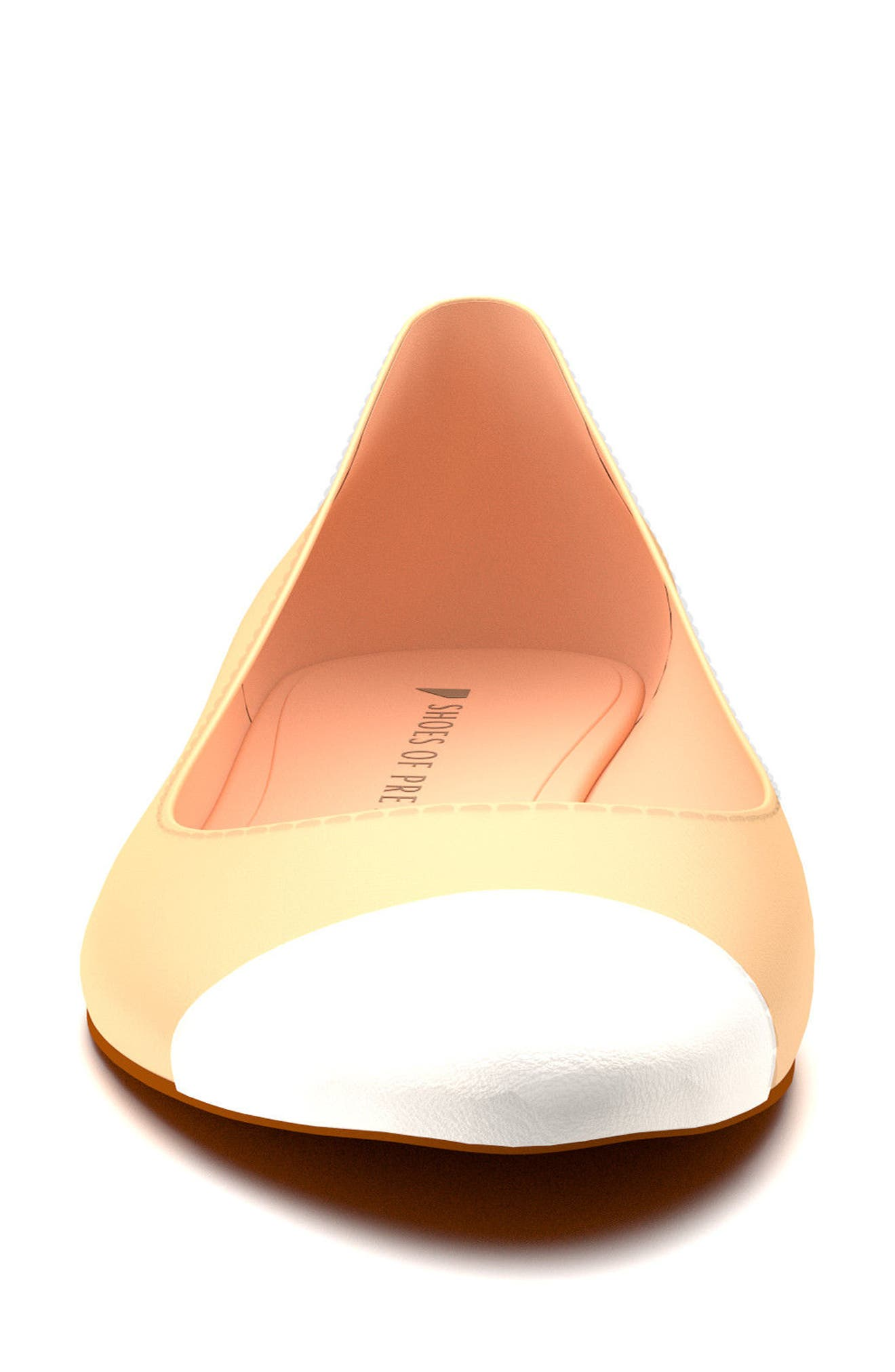 Alternate Image 3  - Shoes of Prey Cap Toe Ballet Flat (Women)