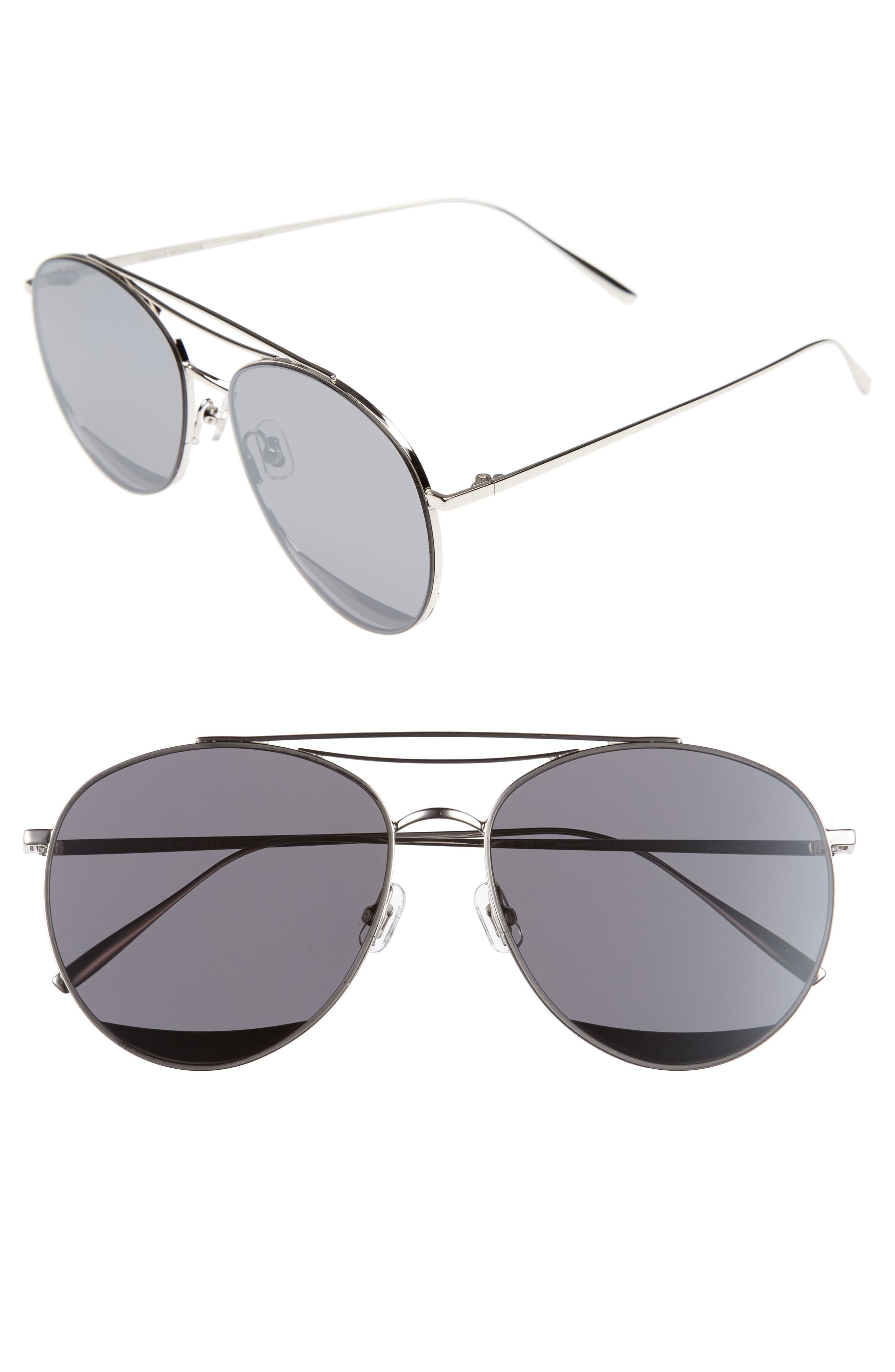 GENTLE MONSTER Odd Odd 61mm Aviator Sunglasses