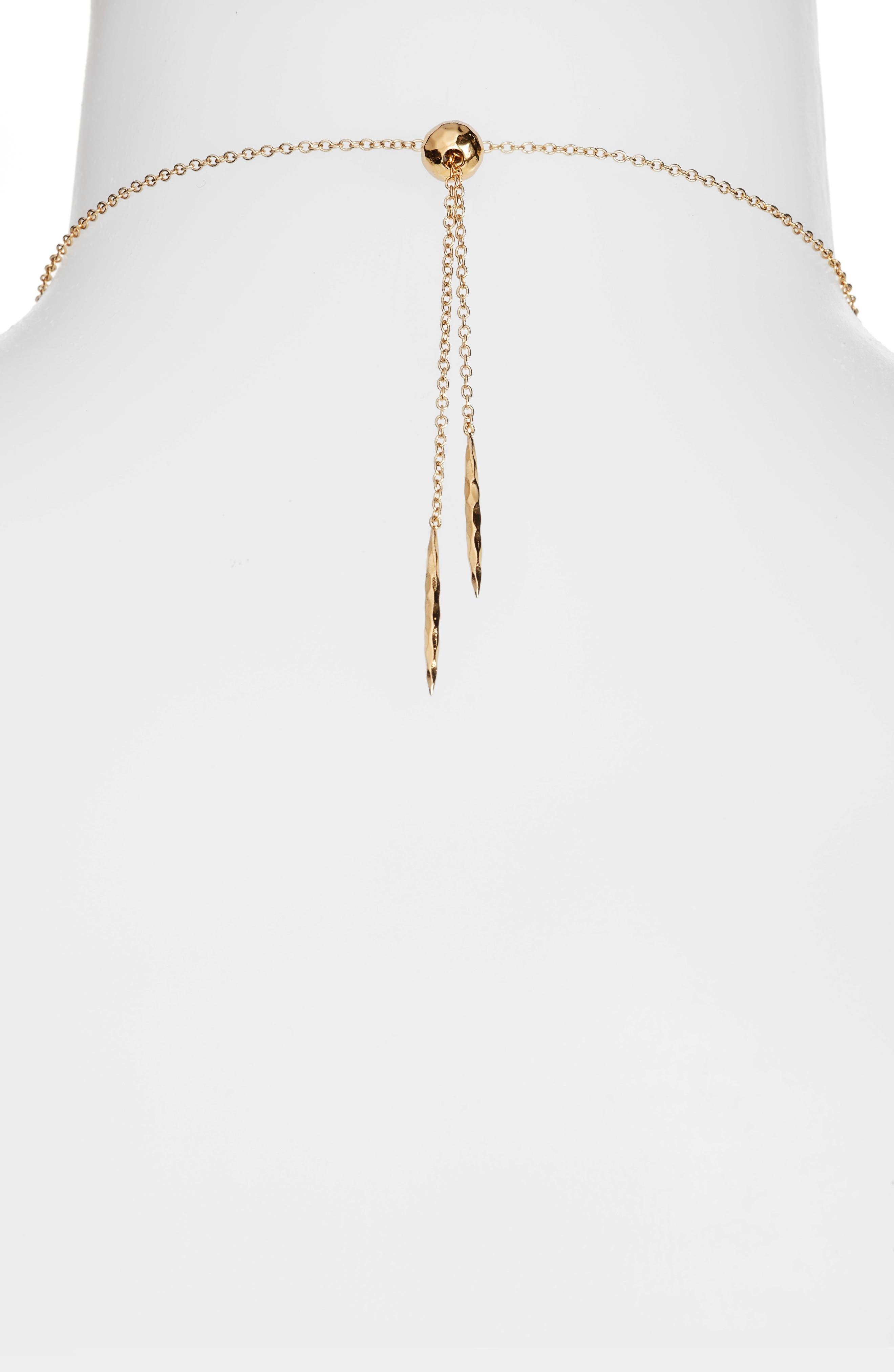 Alternate Image 2  - gorjana Gypset Adjustable Pendant Necklace