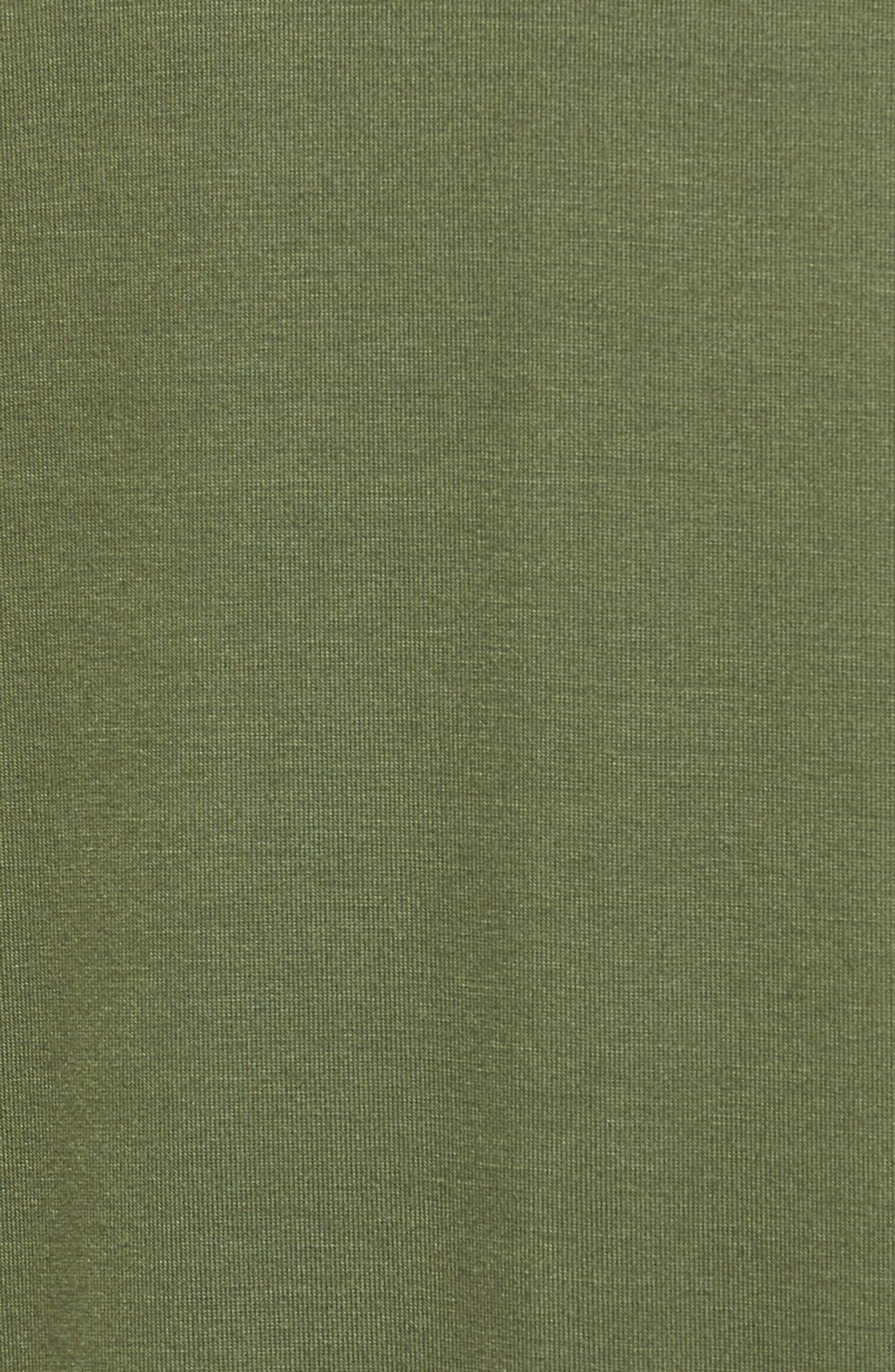 Alternate Image 5  - One Clothing Knit Wrap Midi Dress
